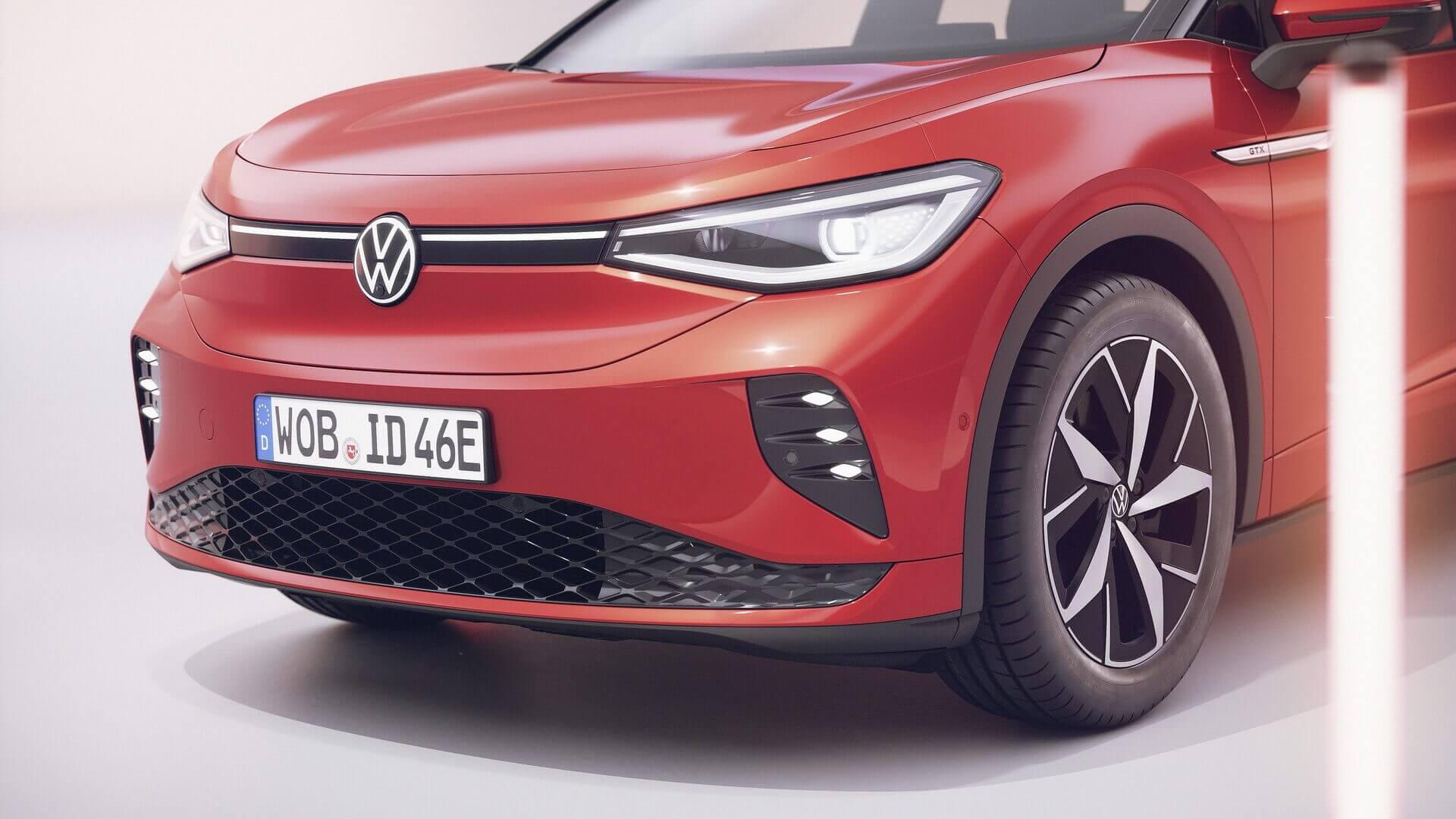 Экстерьер Volkswagen ID.4 GTX