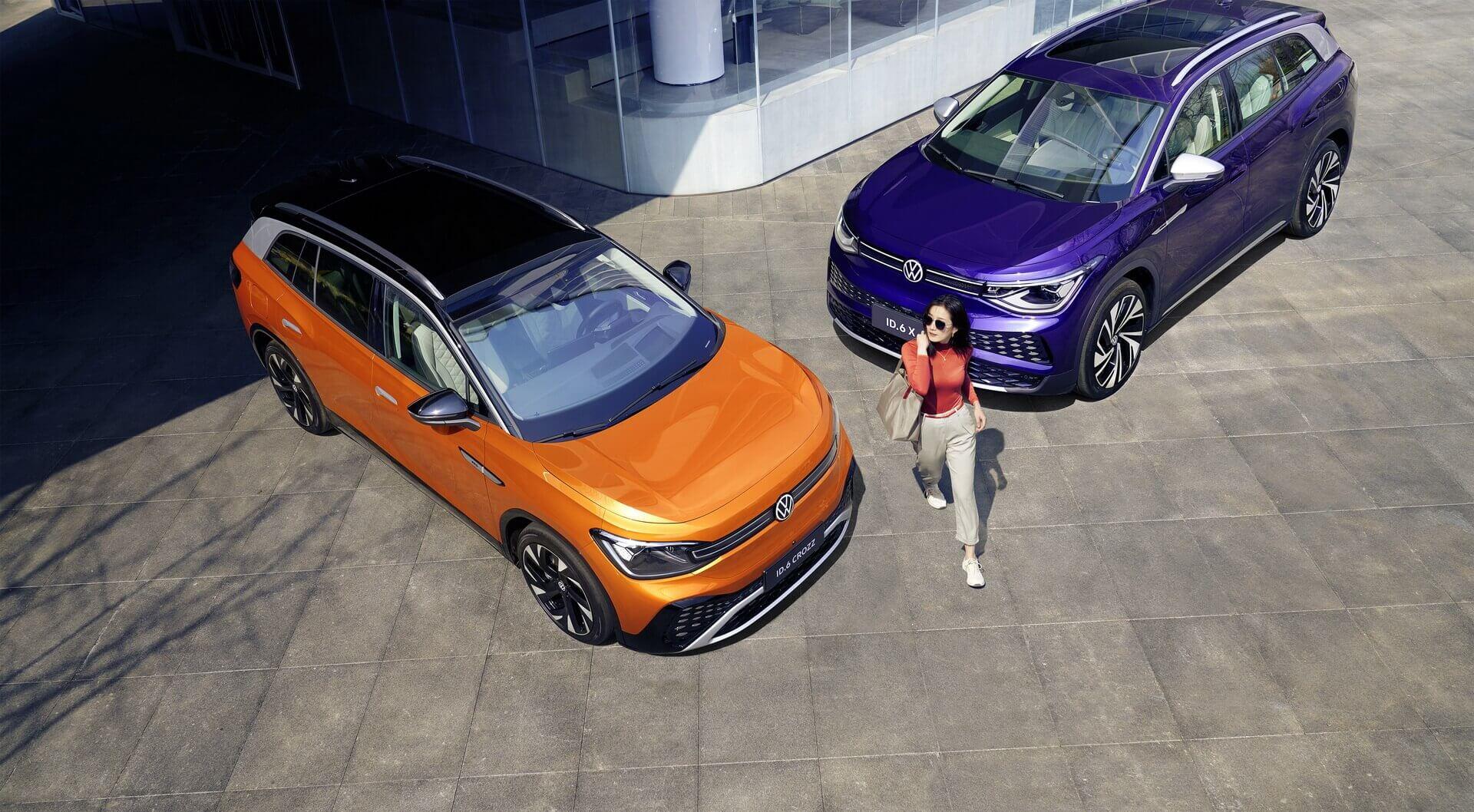 Volkswagen официально раскрыл характеристики ID.6 для китайского рынка