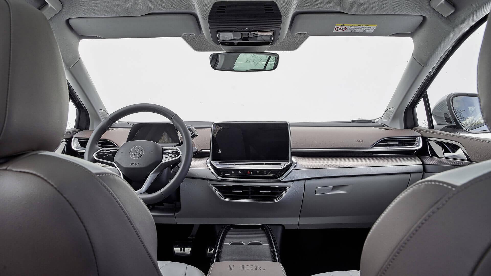 Интерьер электрического кроссовера Volkswagen ID.6