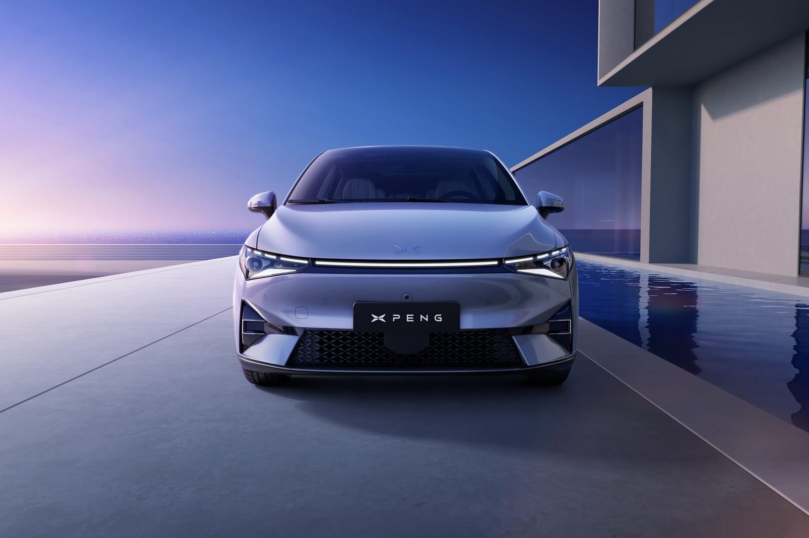 XPeng P5 третья серийная модель китайского автопроизводителя