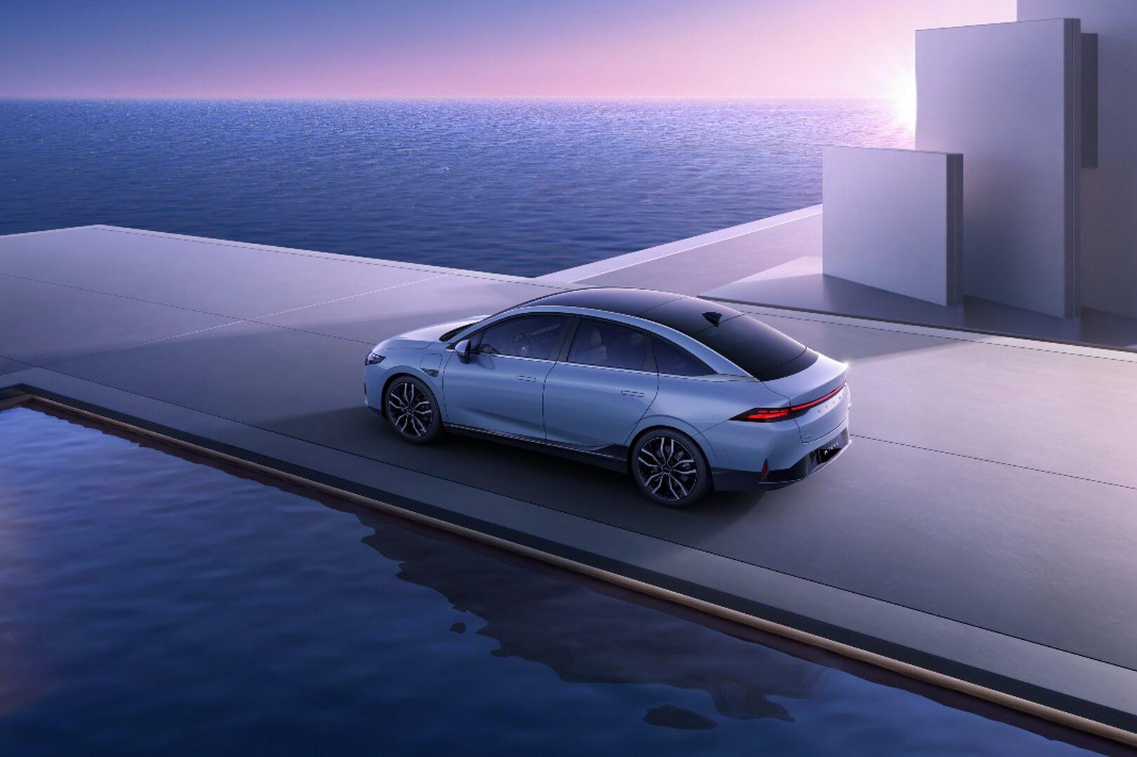 XPeng P5 — первый в мире серийным автомобиль с технологией LiDAR