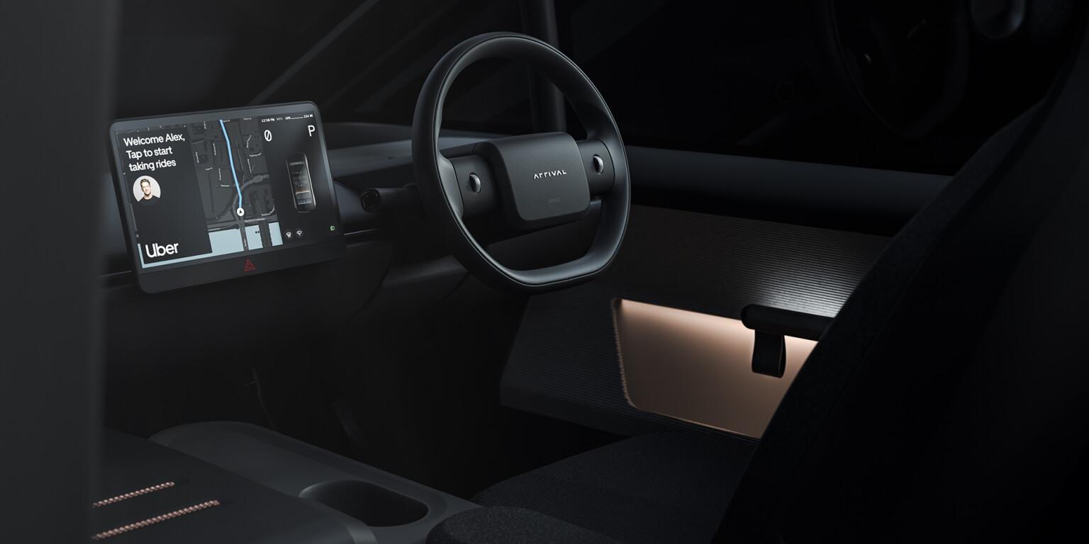 Arrival разрабатывает электрокар для Uber ипохожих сервисов