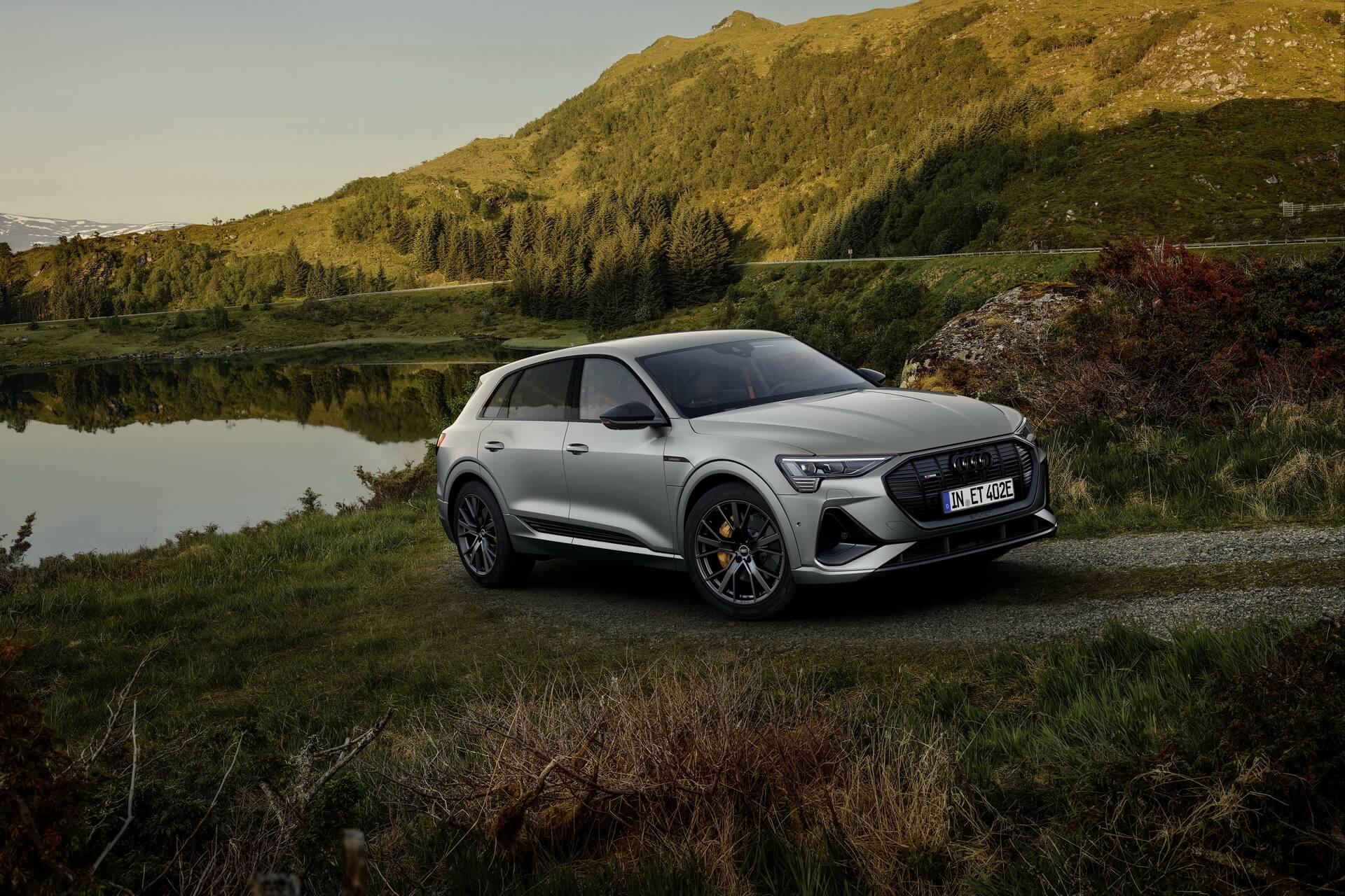 Audi e-tron quattro иe-tron Sportback доступны висполненииS line black edition