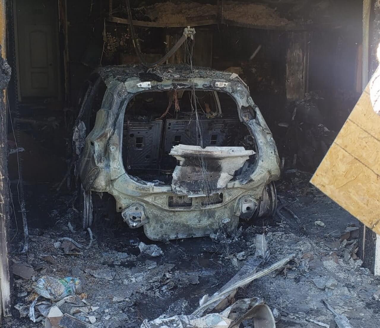 Chevrolet Bolt EV опять сгорел из-за проблем с батареей