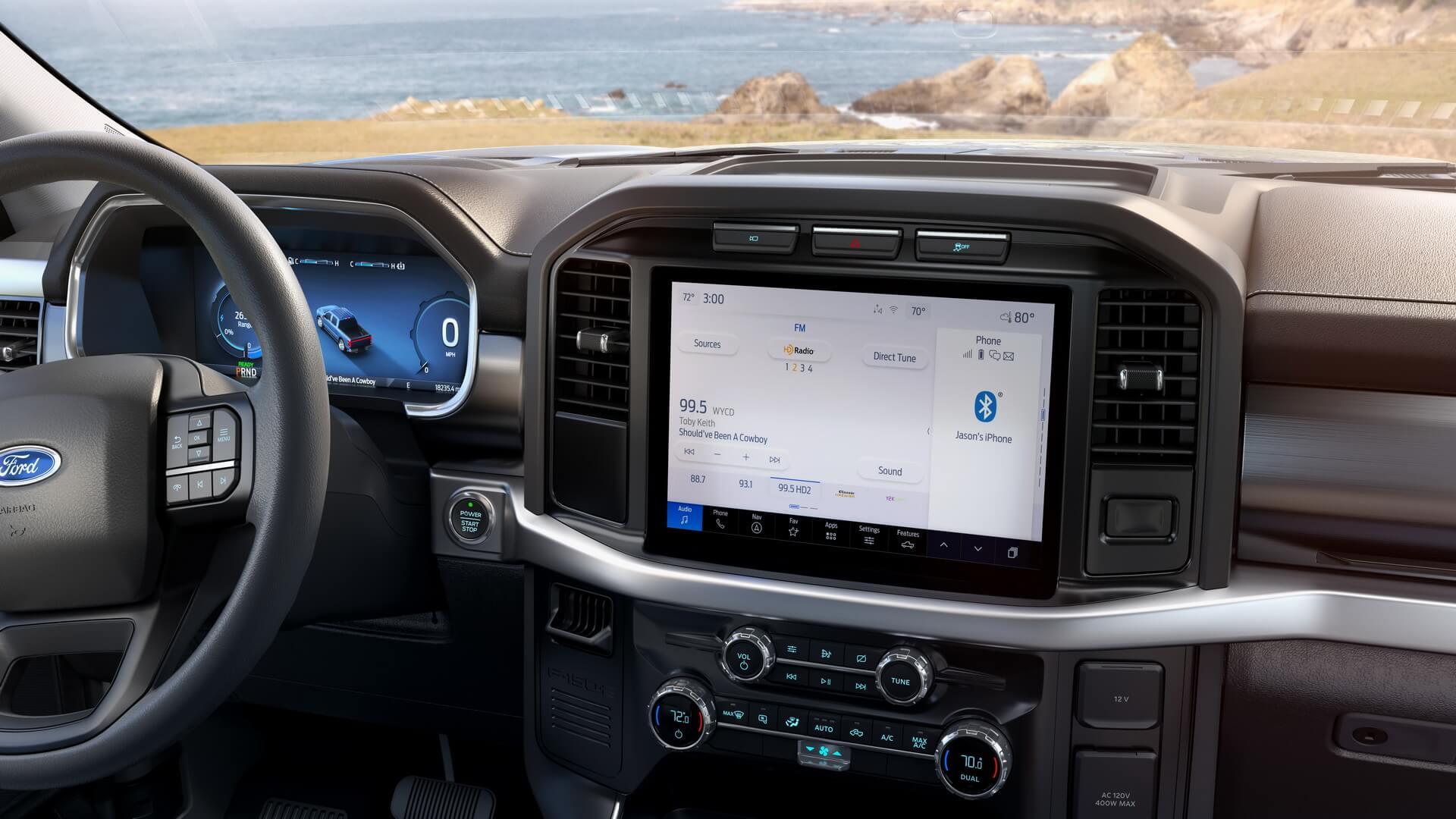 Ford F-150 Lightning Pro предлагает интеллектуальные средства телематики и сбора данных для управления автопарком