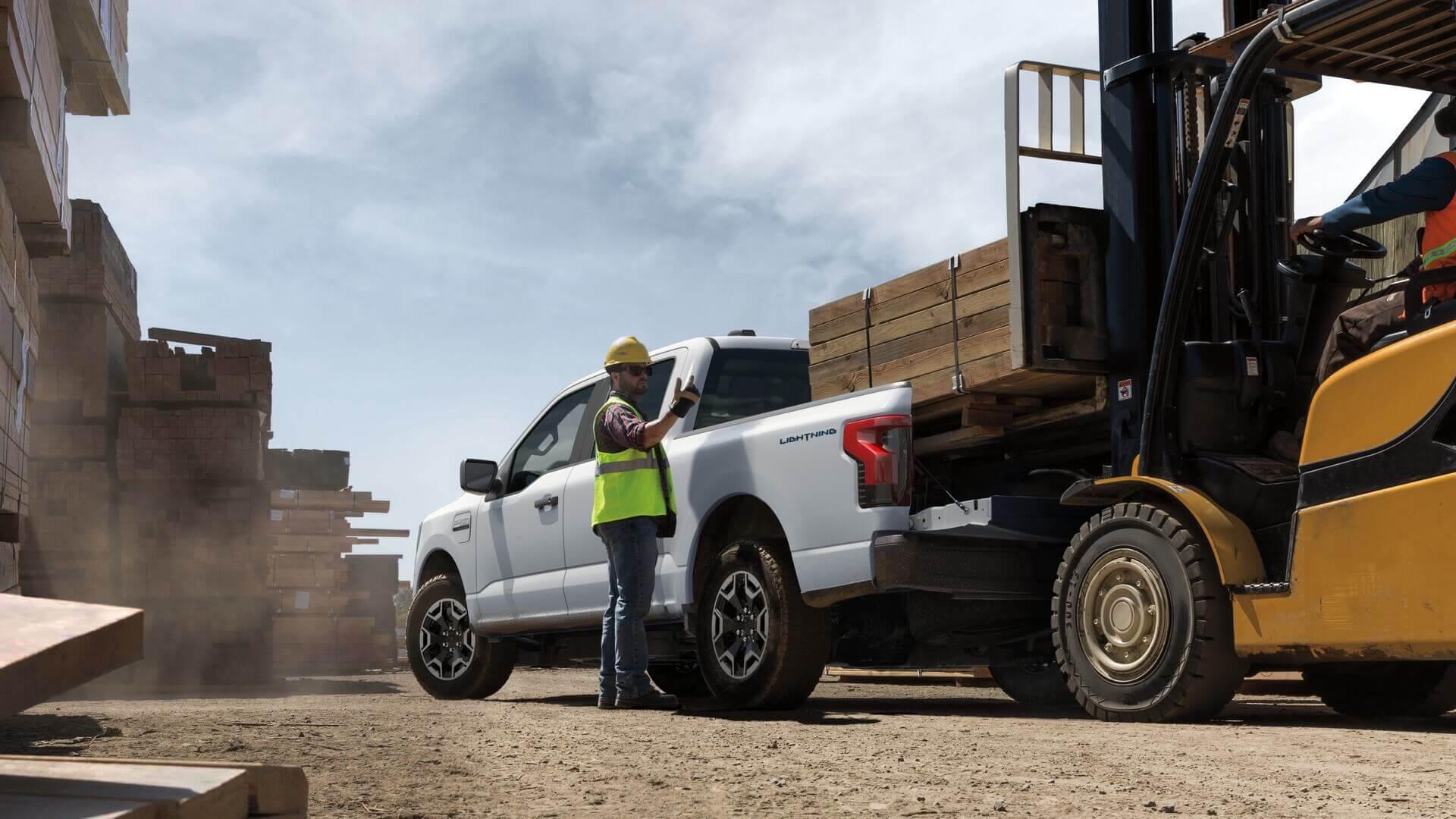 Ford F-150 Lightning Pro— электрический пикап для бизнеса