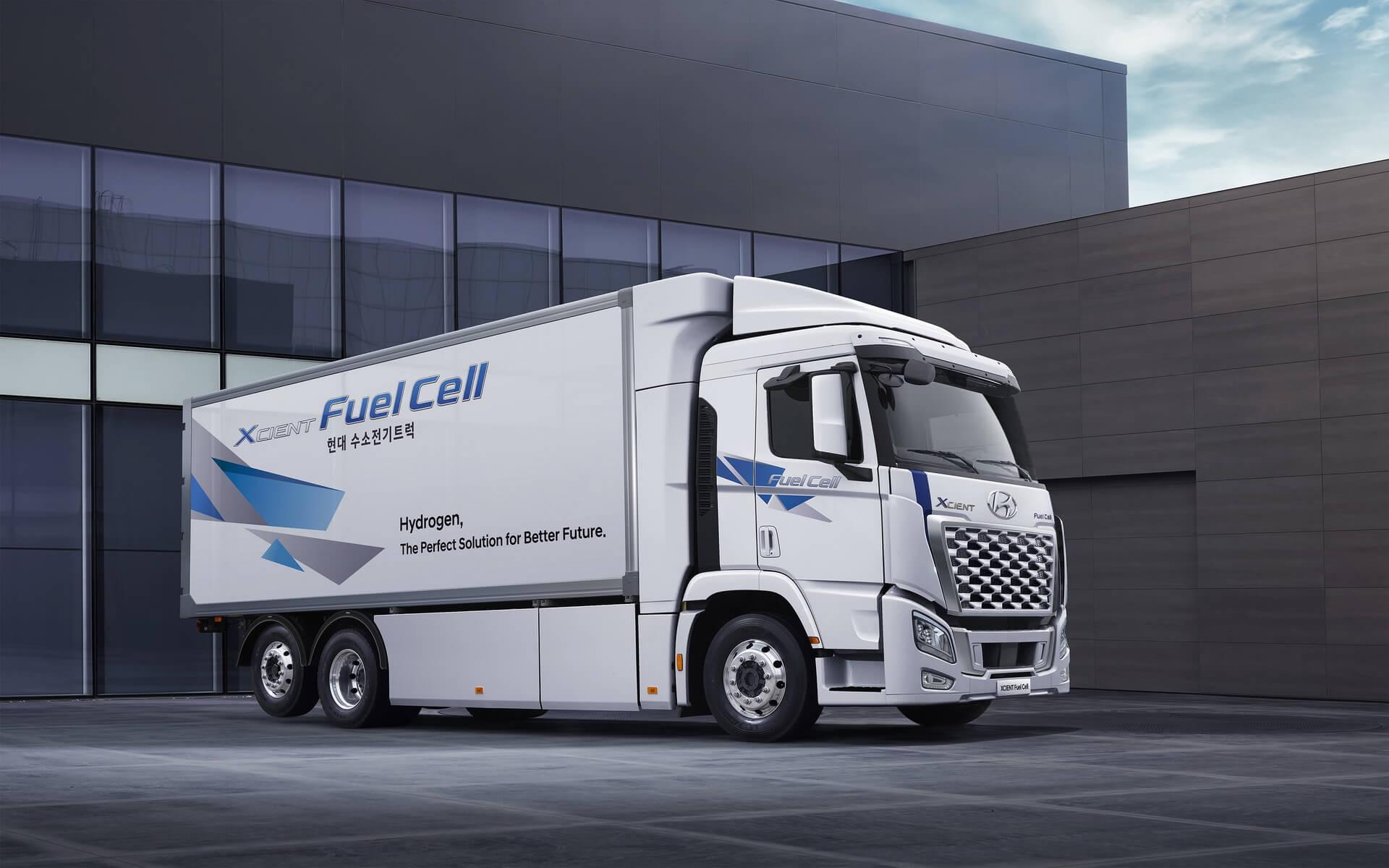 Hyundai обновляет грузовик на топливных элементах XCIENT Fuel Cell