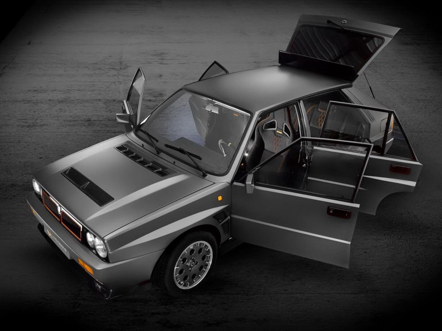 Культовая раллийная Lancia Delta получила электрический привод