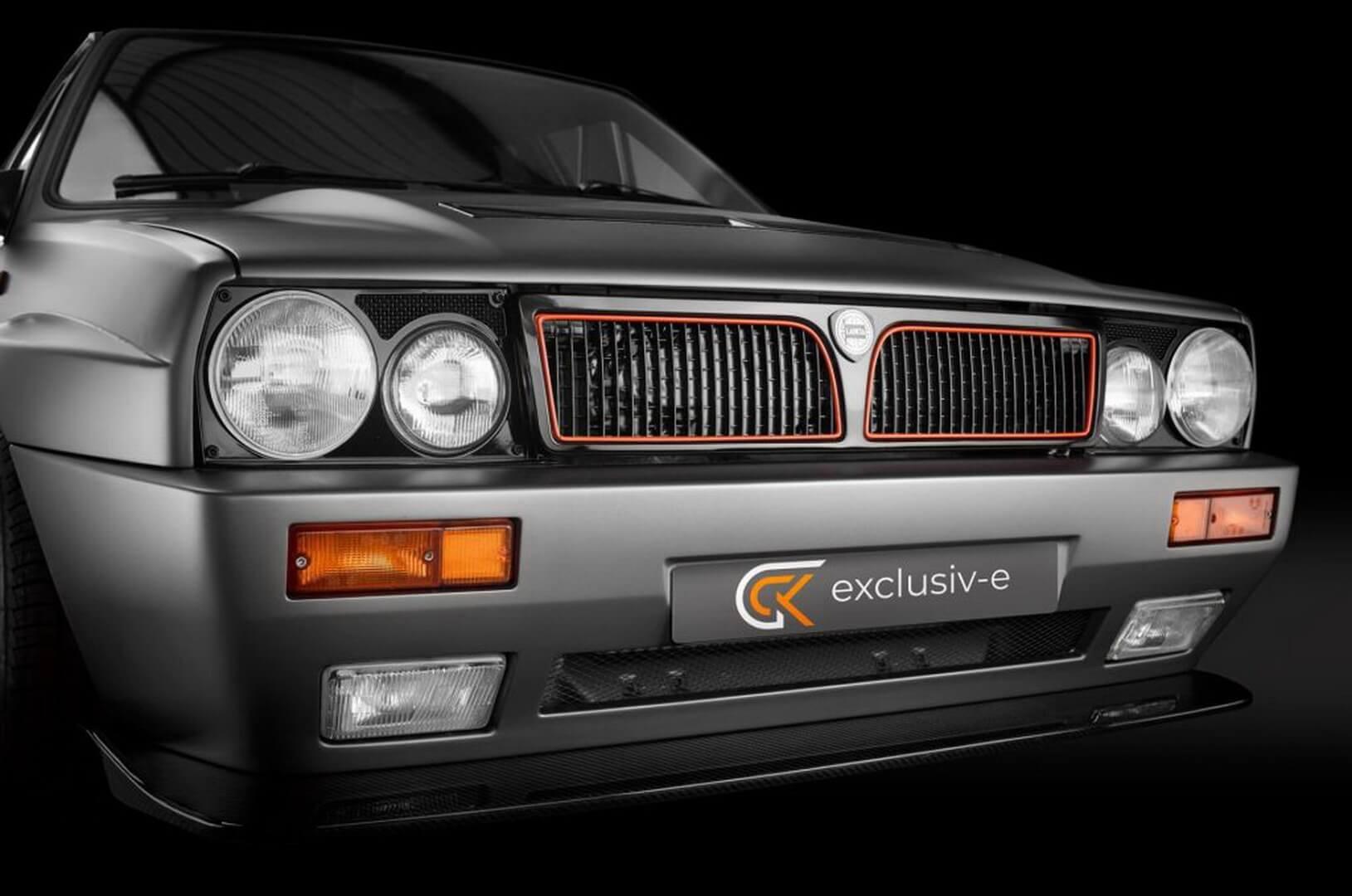 Команда GCK представила первую модель новой линейки электрических рестомодов «Exclusiv-e»