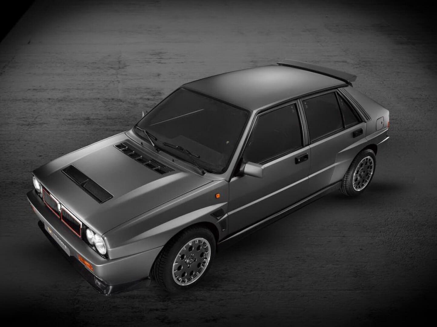 Lancia Delta Evo-e — одна из лучших раллийных машин прошлого верка получила электрический привод