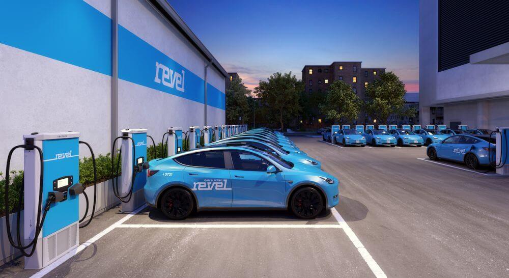 В Нью-Йорке для электромобилей будет создана сеть зарядки под названием Revel Superhub