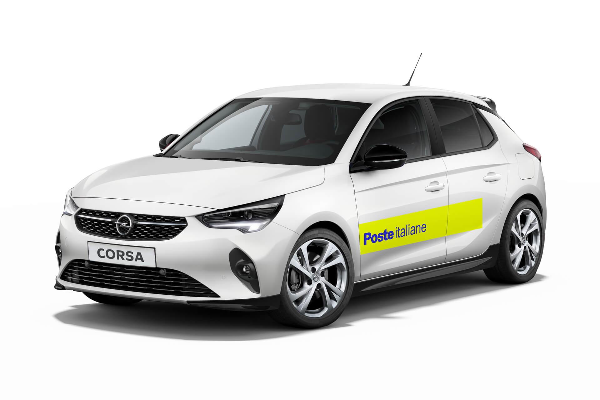 Opel поставит более 1700 Corsa-e для итальянского оператора почтовой связи
