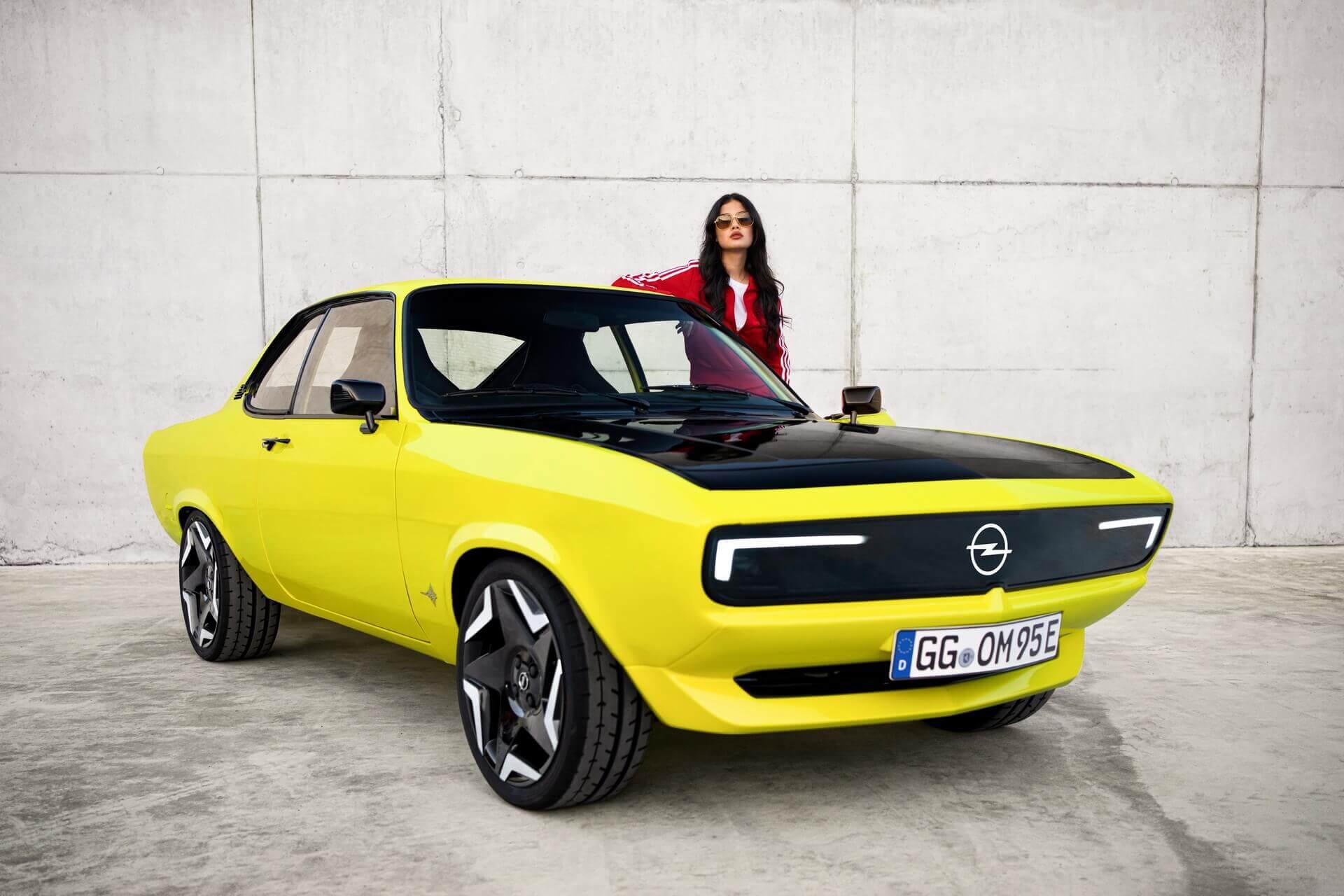 Классическое купе Opel Manta становится электрическим