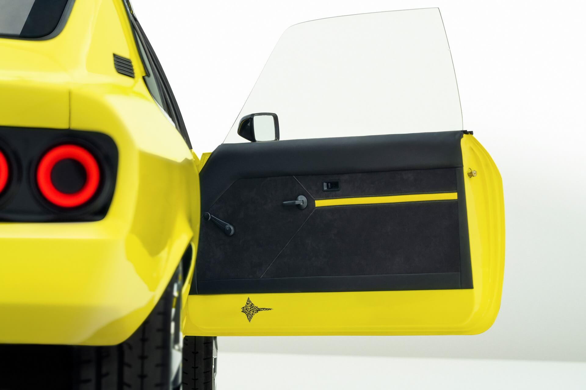 Поверхности дверных панелей Opel Manta ElektroMOD матово-серые