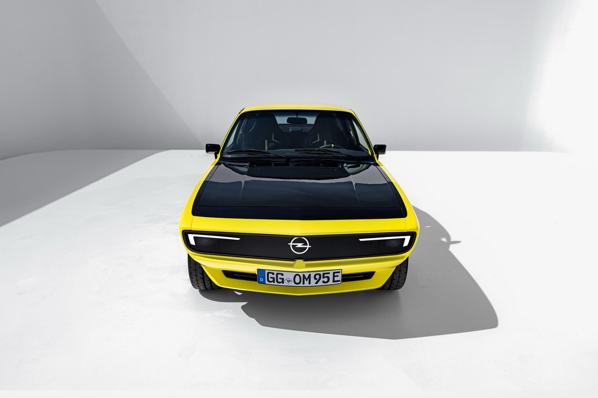 Спортивный электрокар Opel Manta ElektroMOD получил мощность 147 л.с.