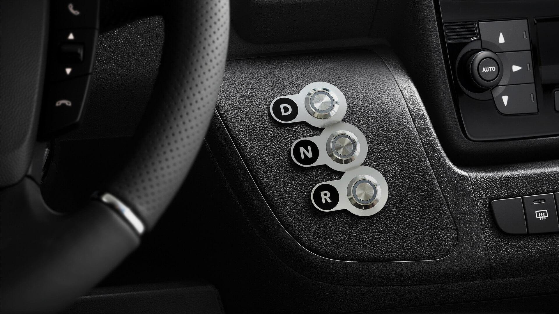 Переключение режимов движения Opel Movano-e