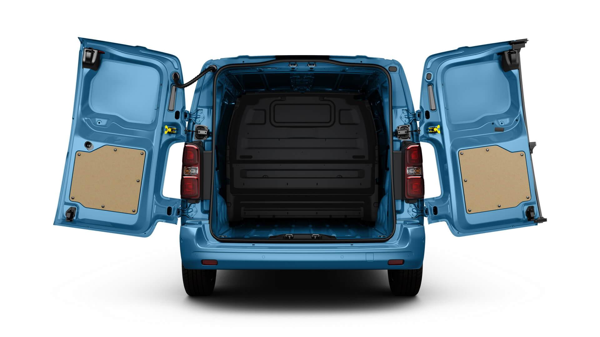 Новый Peugeot e-Expert Hydrogen получил грузовой отсек с полезным объемом до 6,1 м³