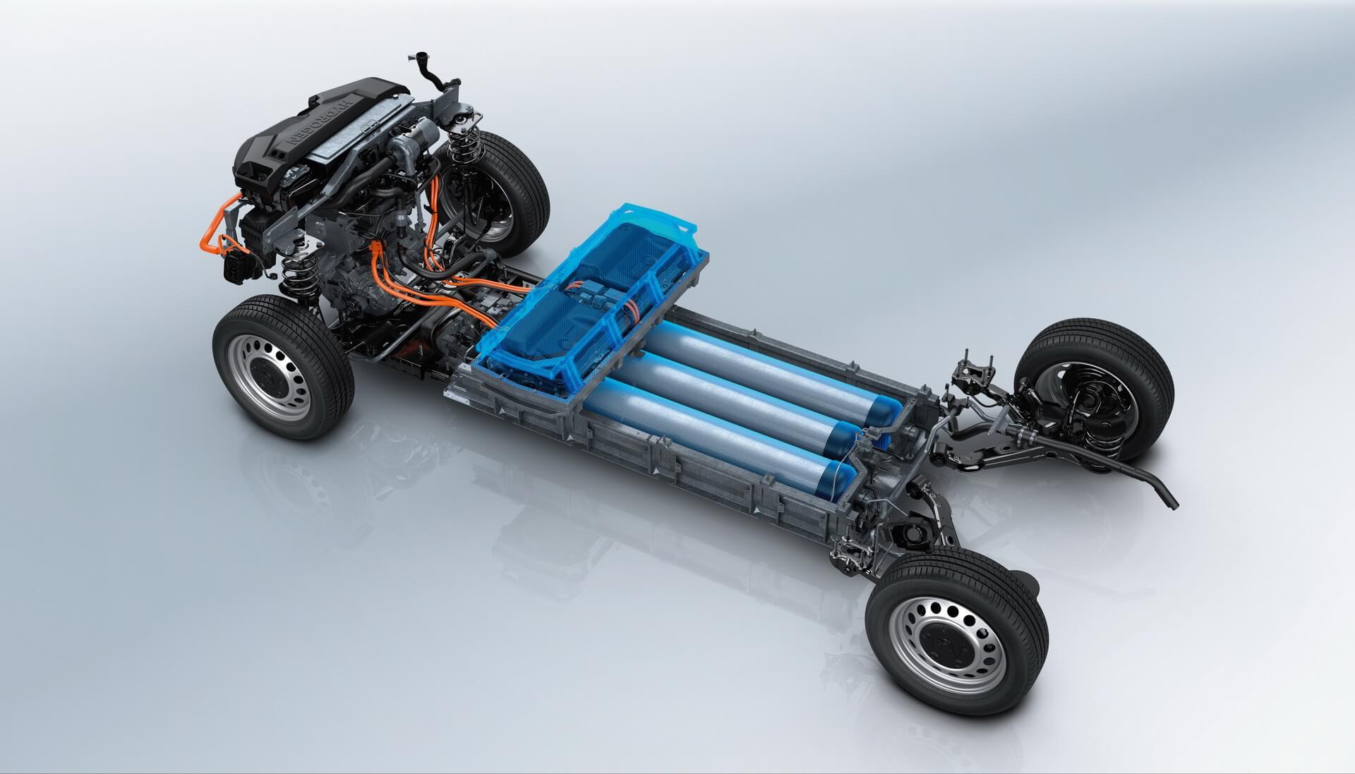 Словая установка на топливных элементах фургона Peugeot e-Expert Hydrogen