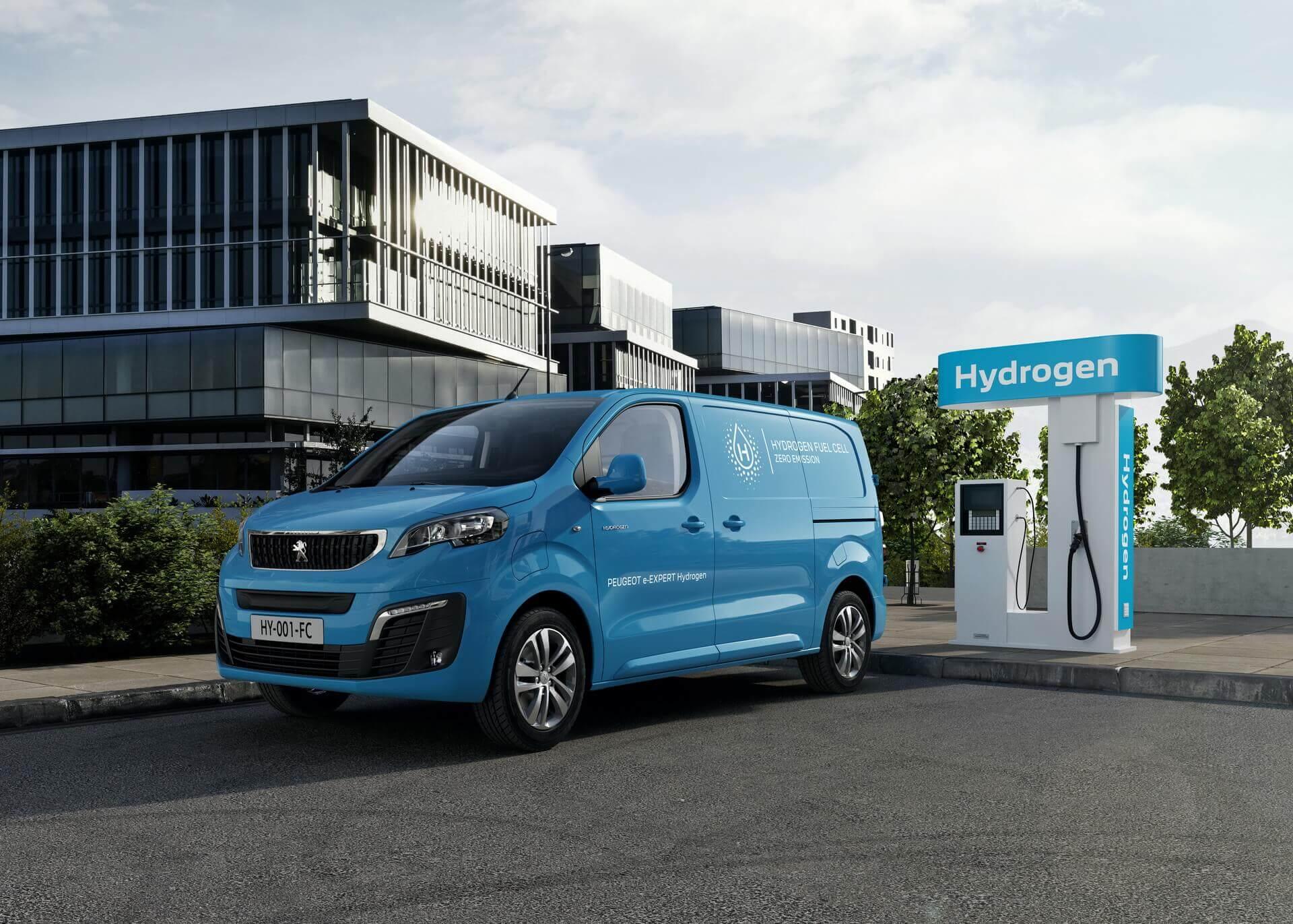 Peugeot представляет водородный фургон e-Expert Hydrogen