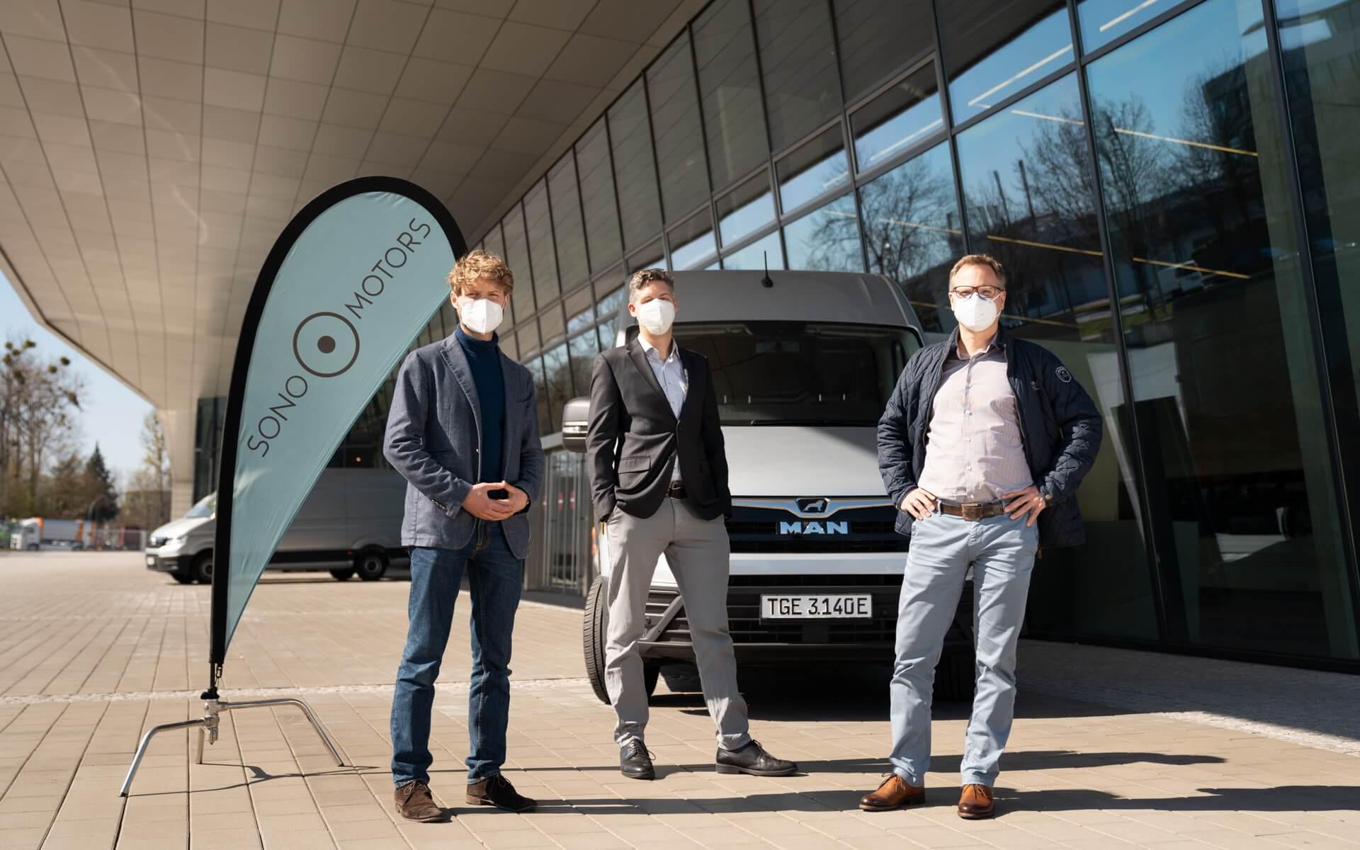 Sono Motors иMAN Truck &Bus планируют проанализировать применение солнечных технологий вкоммерческих автомобилях
