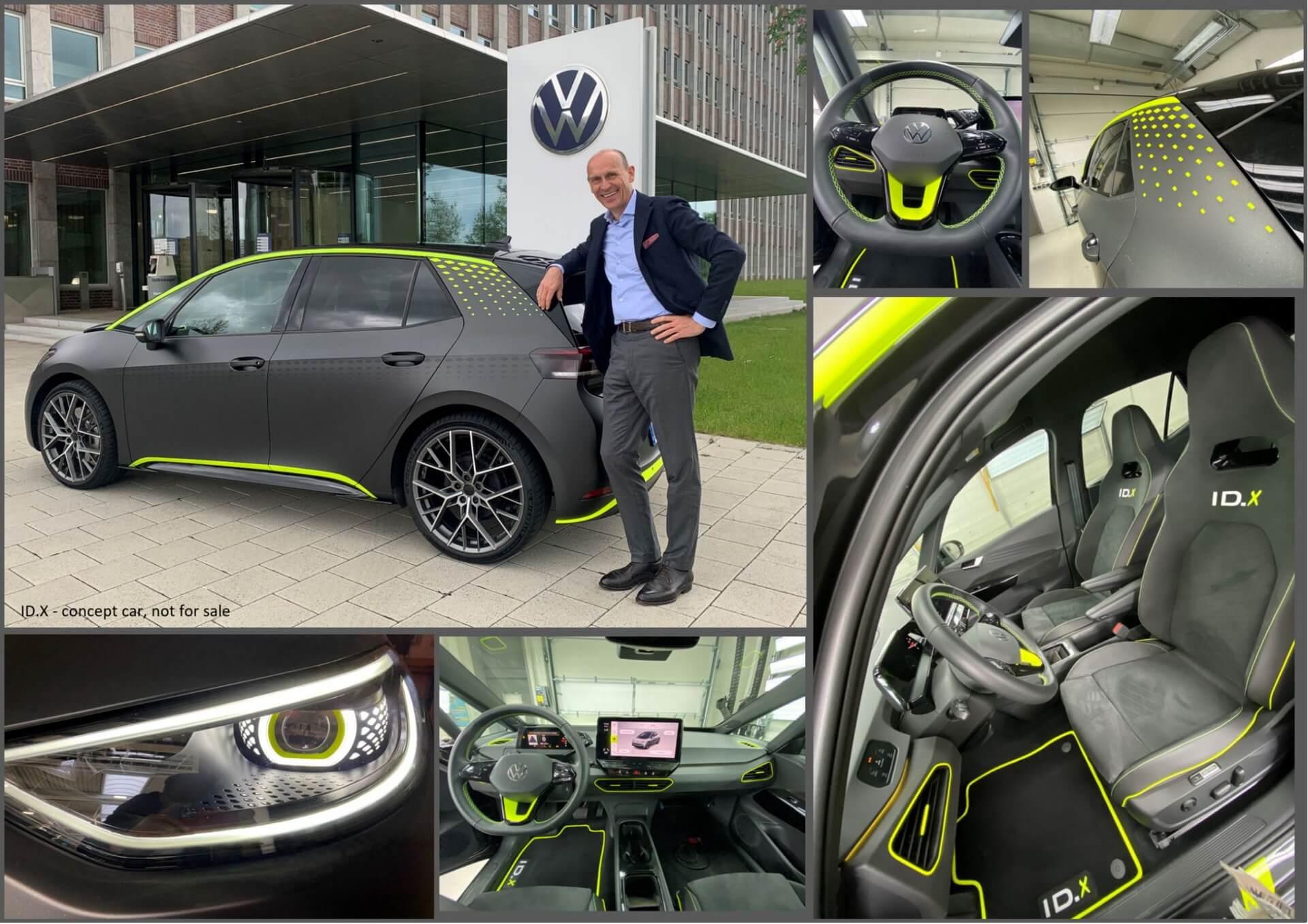 Volkswagen превратил ID.3в «заряженный» хэтчбек ID.X