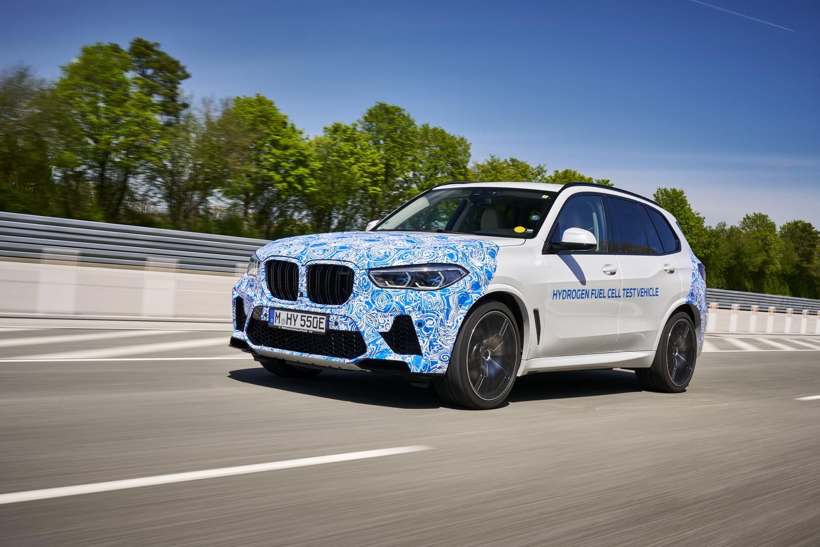 Компания BMW приступила к испытаниям прототипа i Hydrogen NEXT