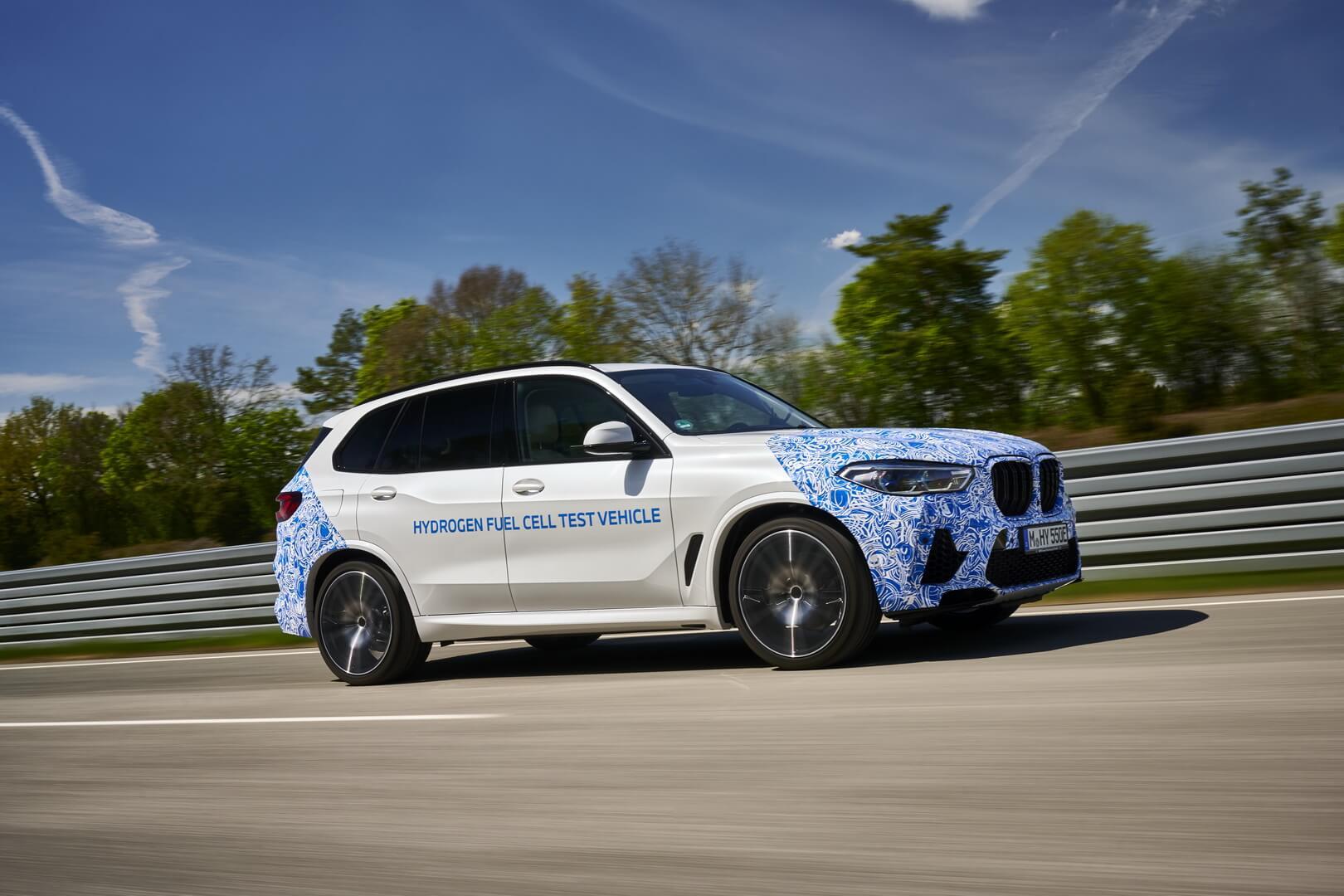 Водородные BMW iHydrogen NEXT начали тестировать надорогах общего пользования