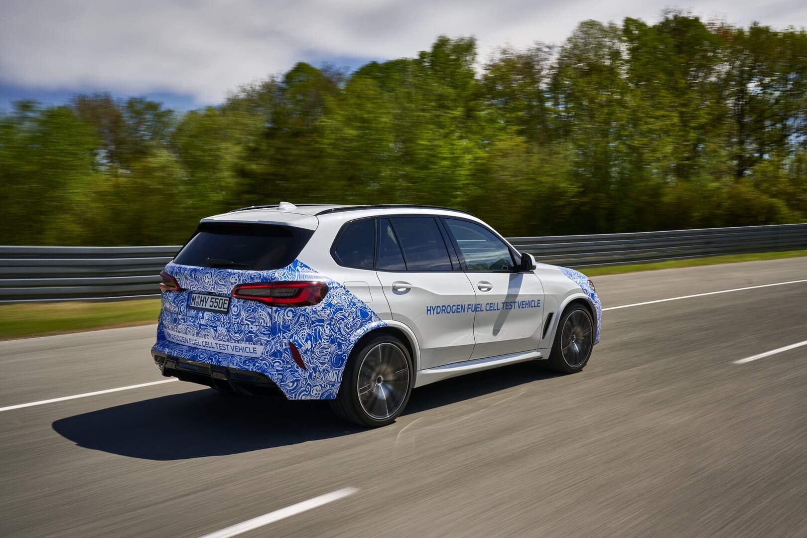 BMW iHydrogen NEXT на испытаниях