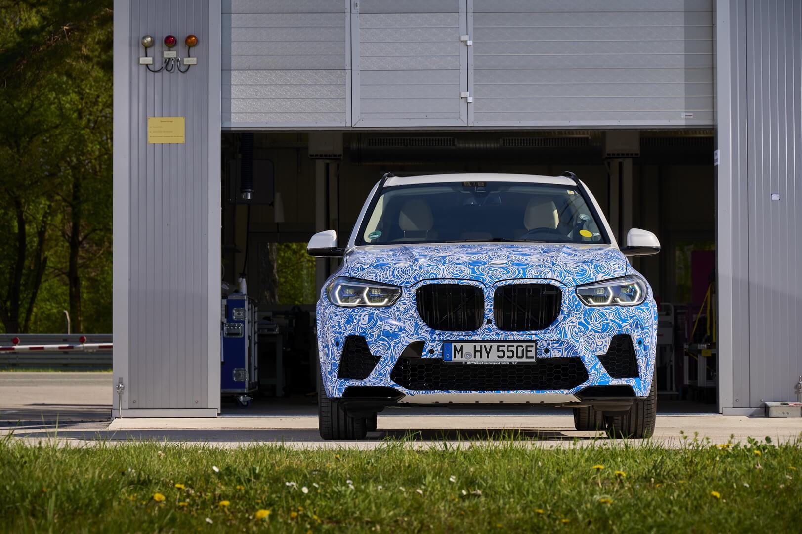 Водородный BMW i Hydrogen NEXT на базе X5