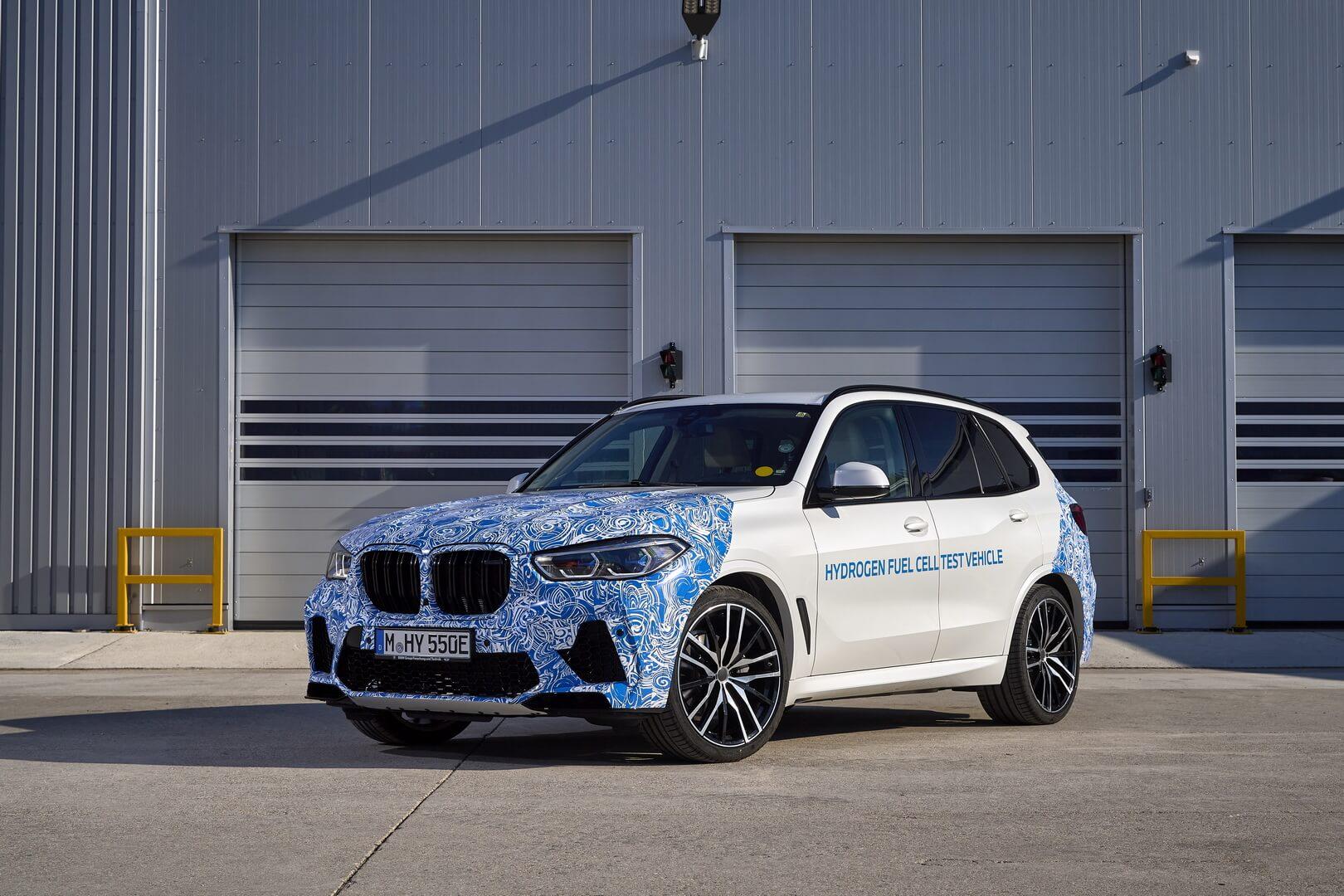 Водородные BMW начали тестировать на дорогах общего пользования