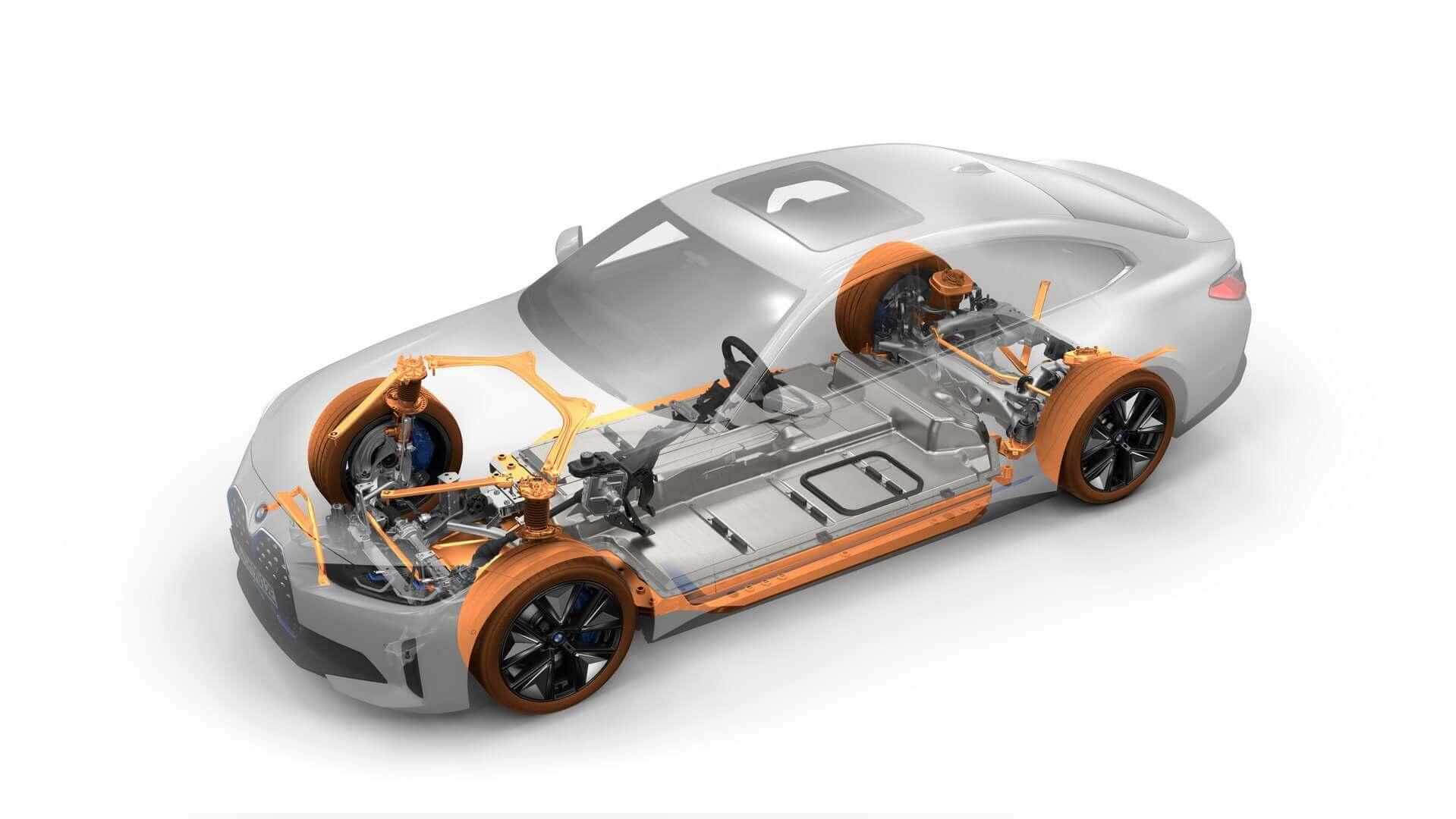 Силовая установка BMW i4 eDrive40