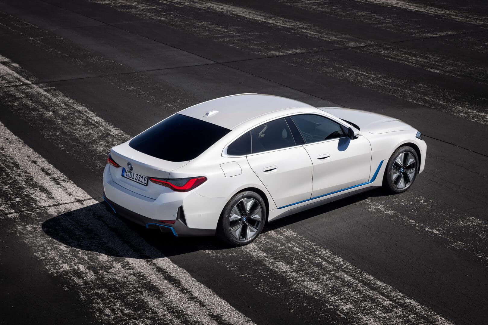 Спортивный электроседан i4 получил технологию BMW eDrive пятого поколения