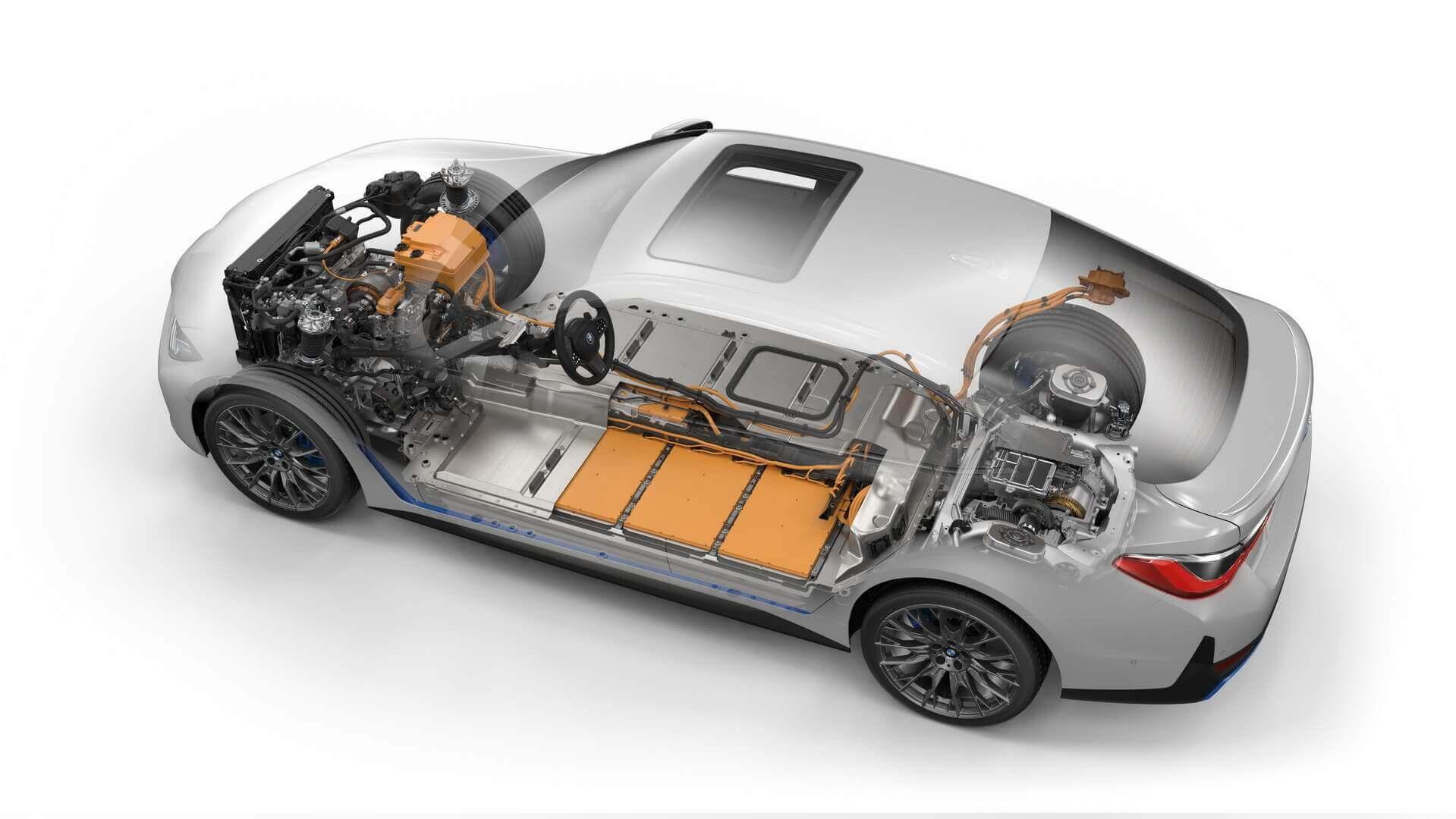 Силовая установка BMW i4 M50