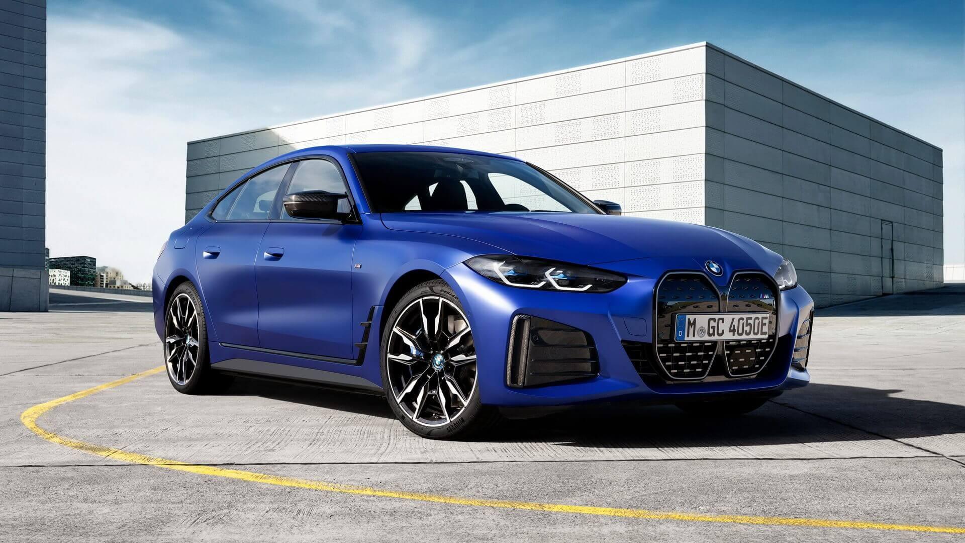 Электрический спортивный седан BMW i4 M50