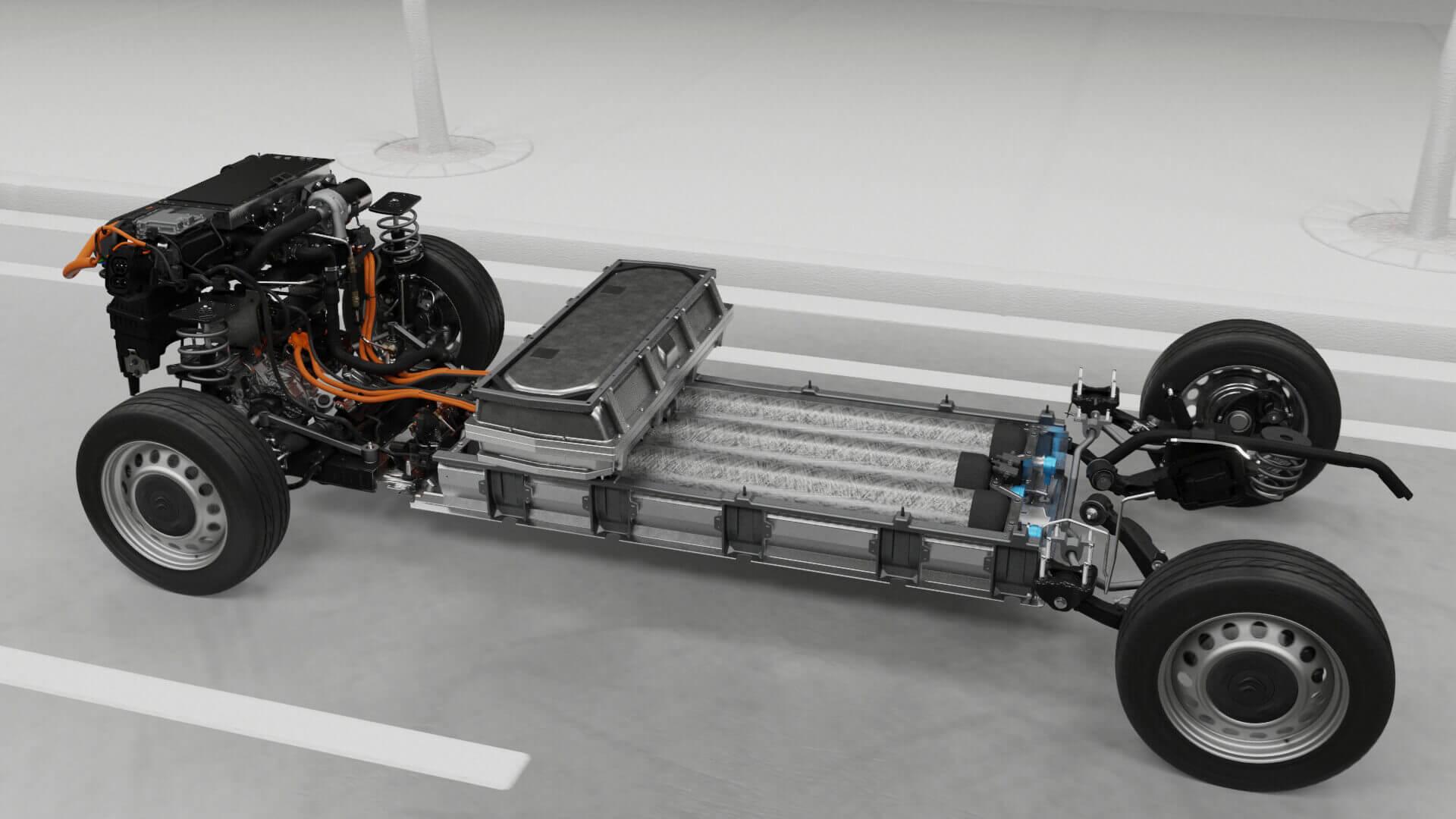 Система топливных элементов фургонов от Stellantis