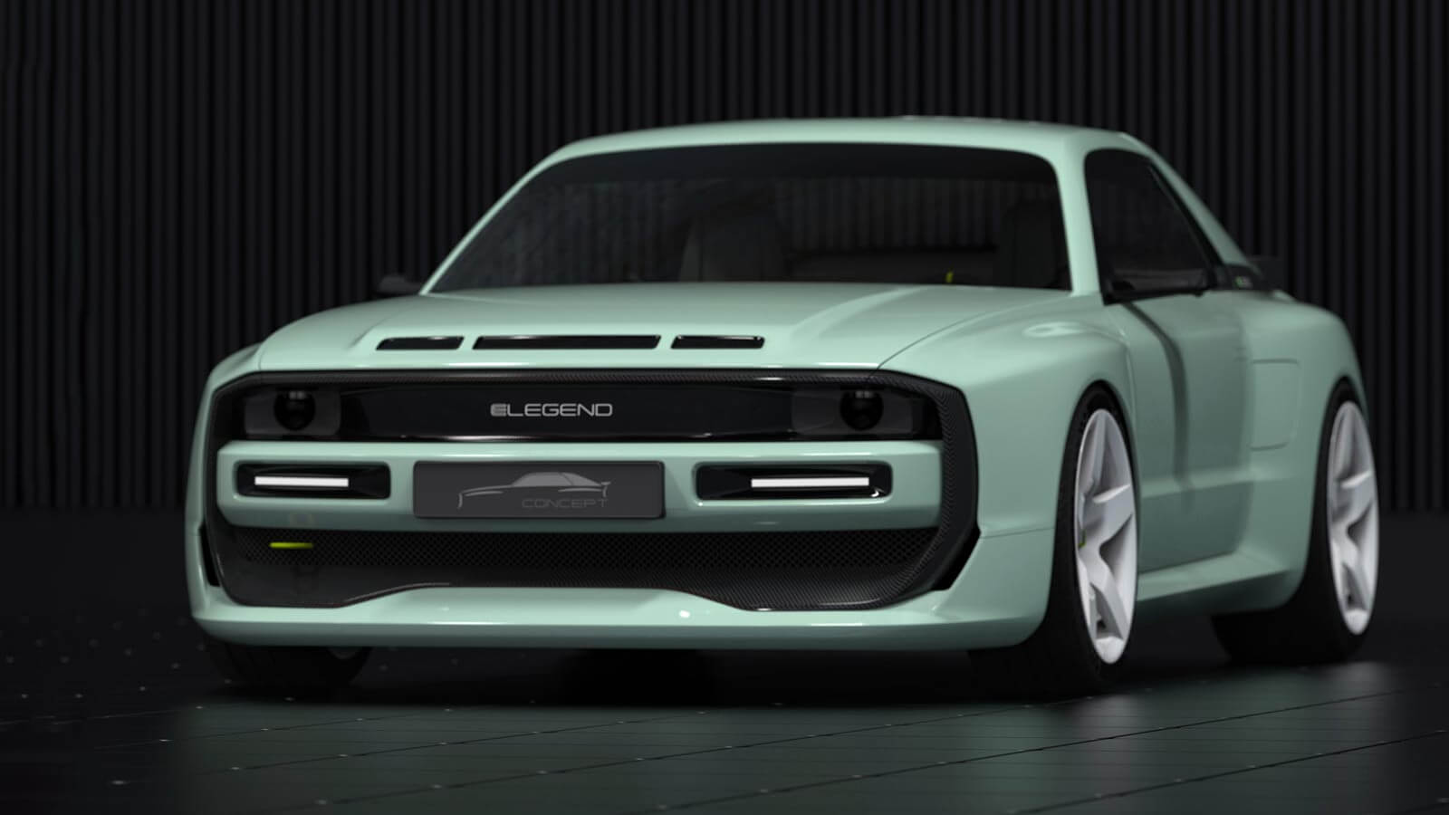 ELegend EL1 — электрический спортивный автомобиль в духе 80-х из Германии