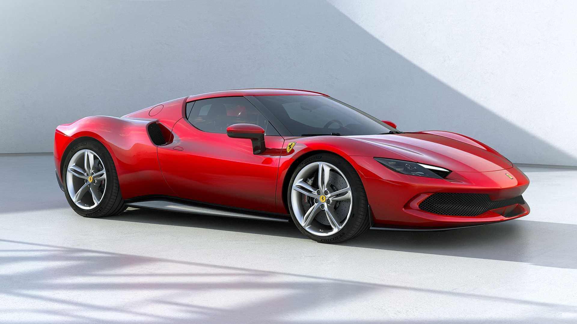 Ferrari представила 830-сильный плагин-гибрид 296GTB