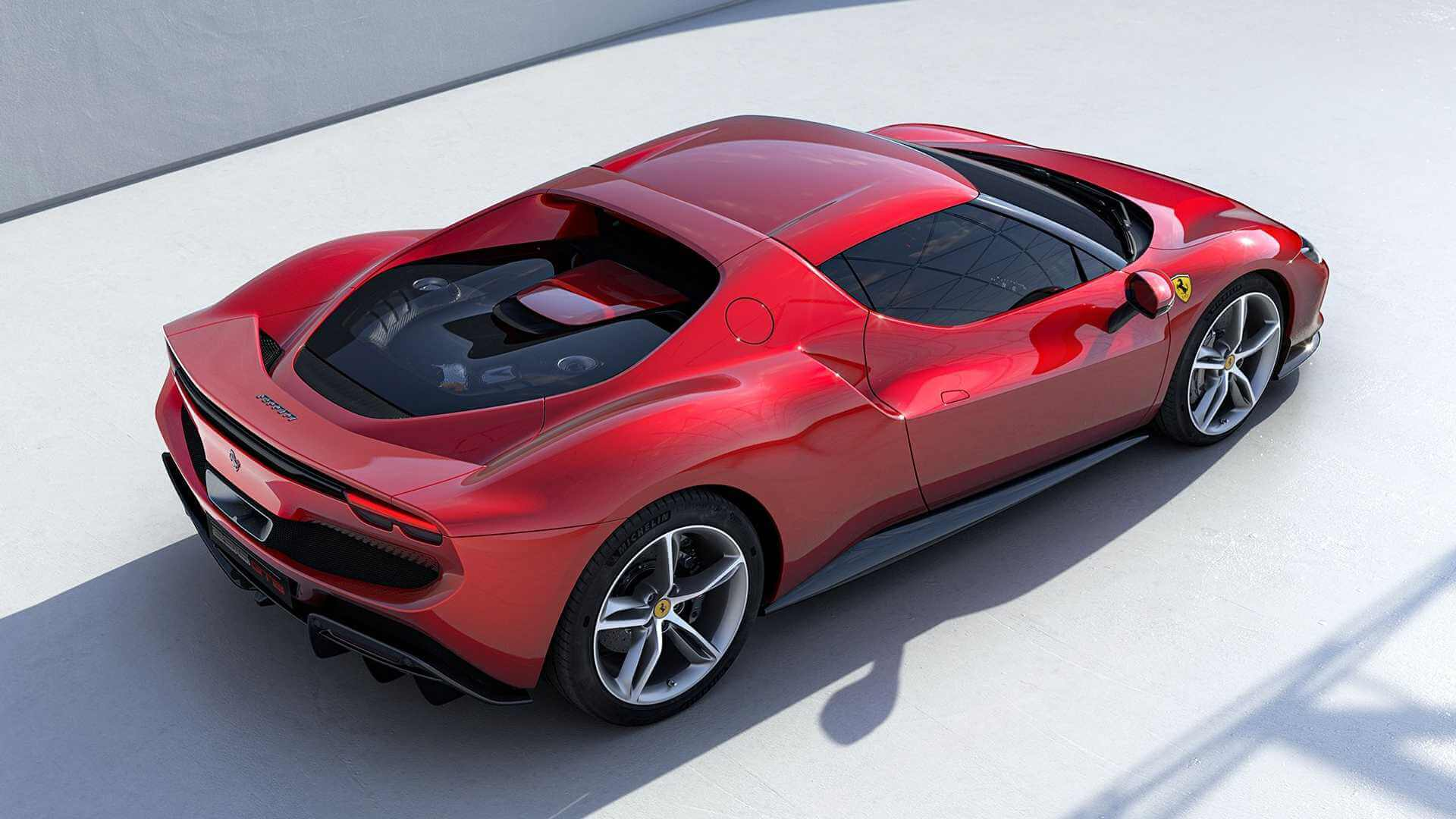 Новая гибридная архитектура Ferrari V6, способная обеспечить до 830 л.с.
