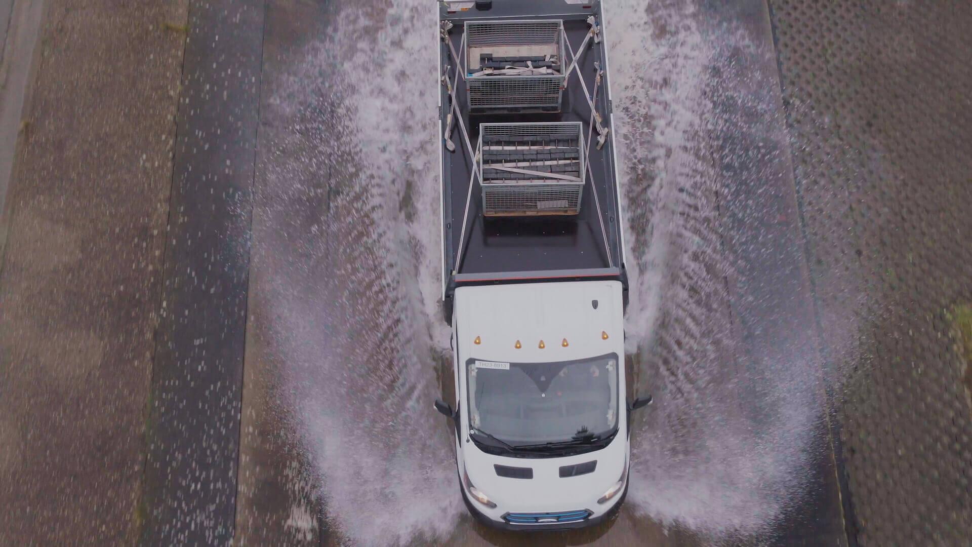 Тестирование электрического Ford E-Transit