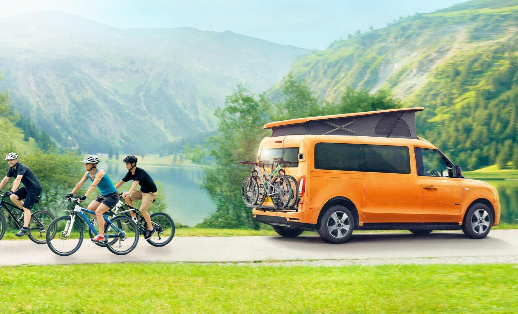 LEVC представляет электрифицированный дом на колесах e-Camper