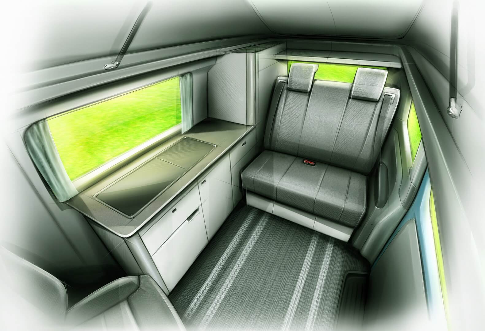 LEVC e-Camper— кемпер набазе гибридного фургона VN5