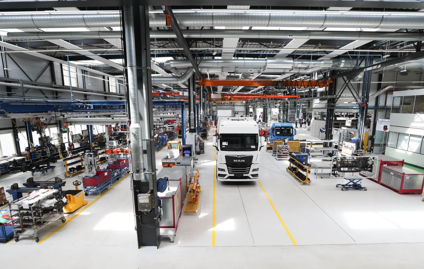 MAN ожидает роста спроса на электрические грузовики