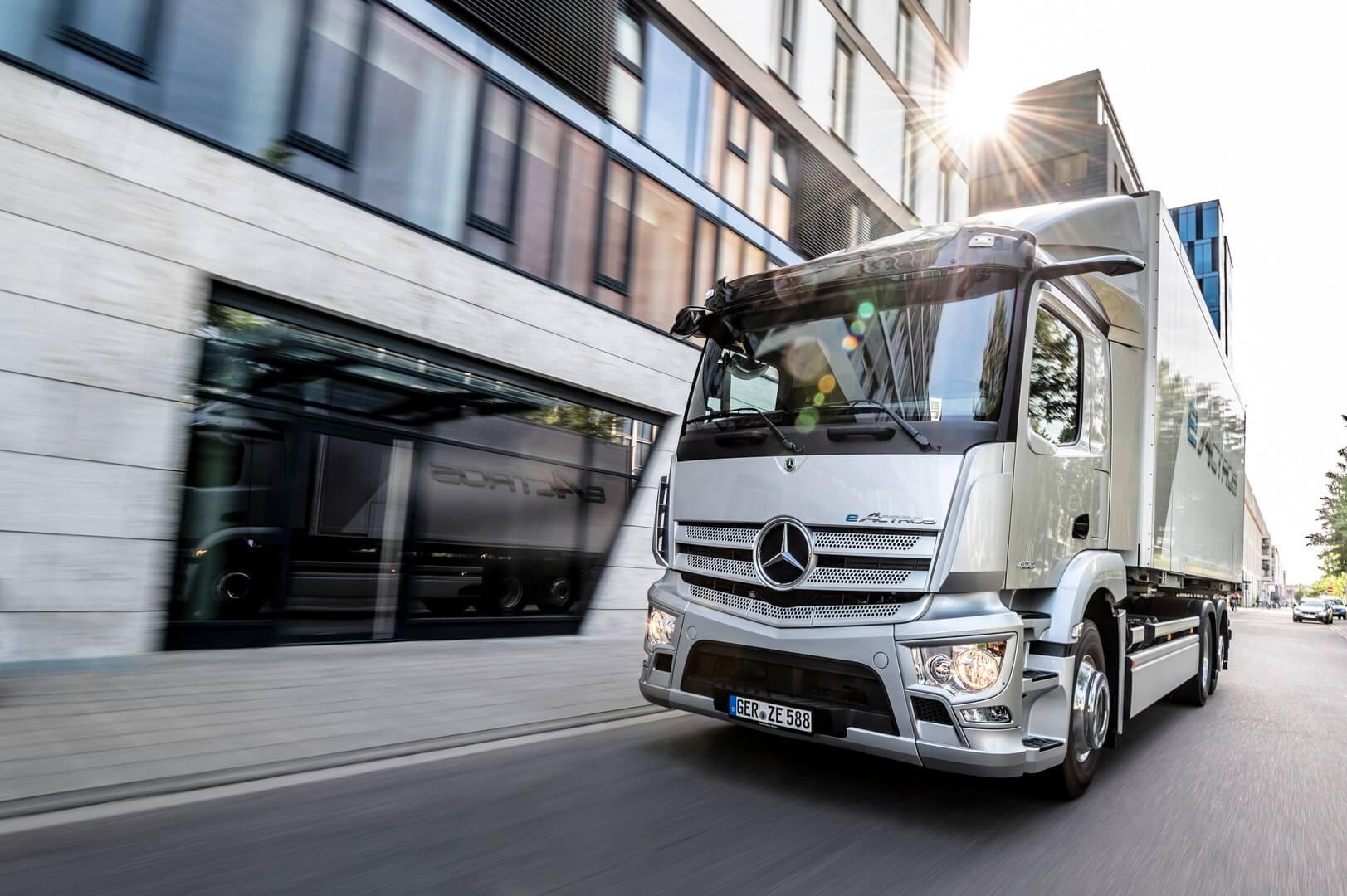 Серийная версия электрогрузовика Mercedes-Benz eActros