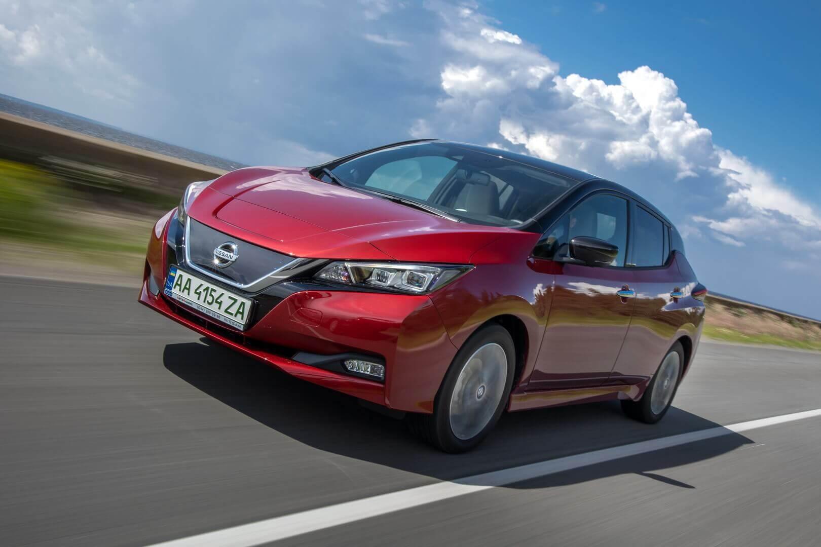 Самый популярный электромобиль в Украине доступен официально