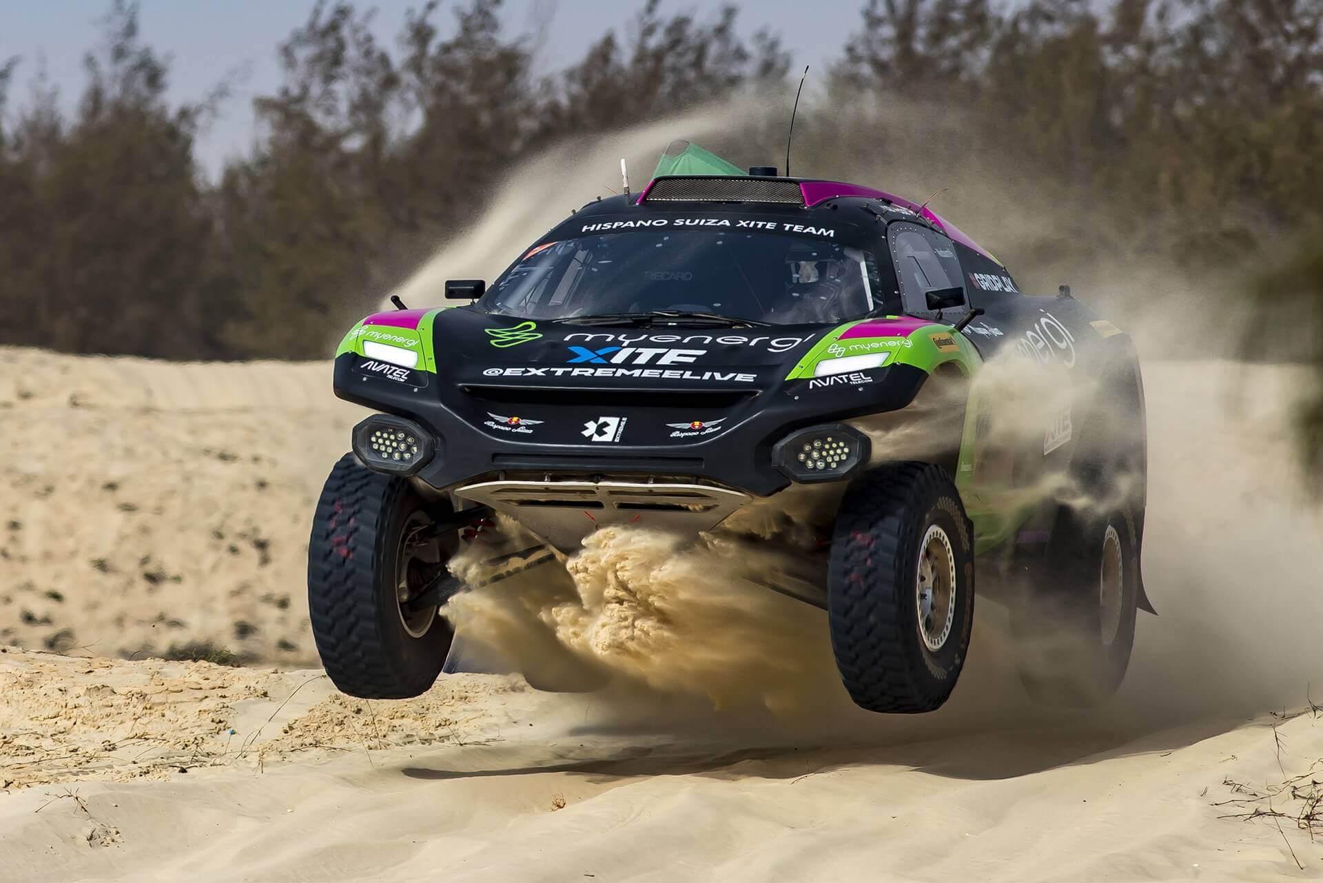 Второй этап Ocean X-Prix проходил в Сенегале недалеко от столицы Дакара