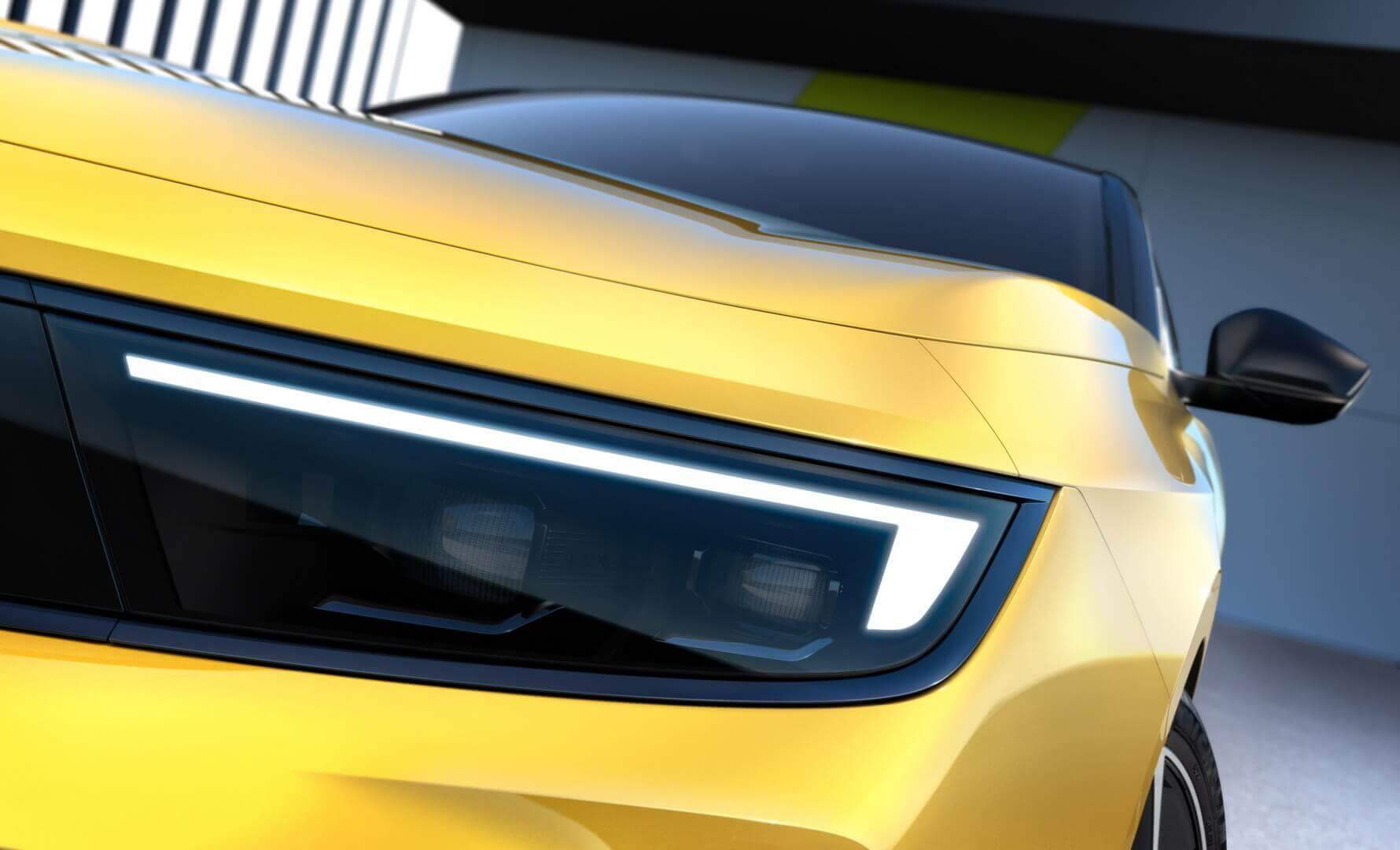 Opel раскрыл первые подробности электрифицированной Astra