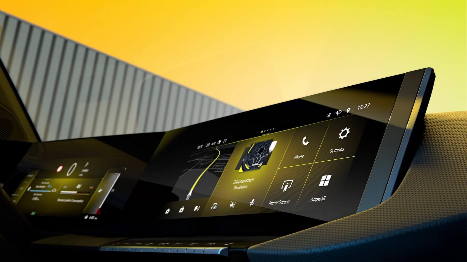 Цифровая кабина Pure Panel следующего поколения с полностью застекленными поверхностями