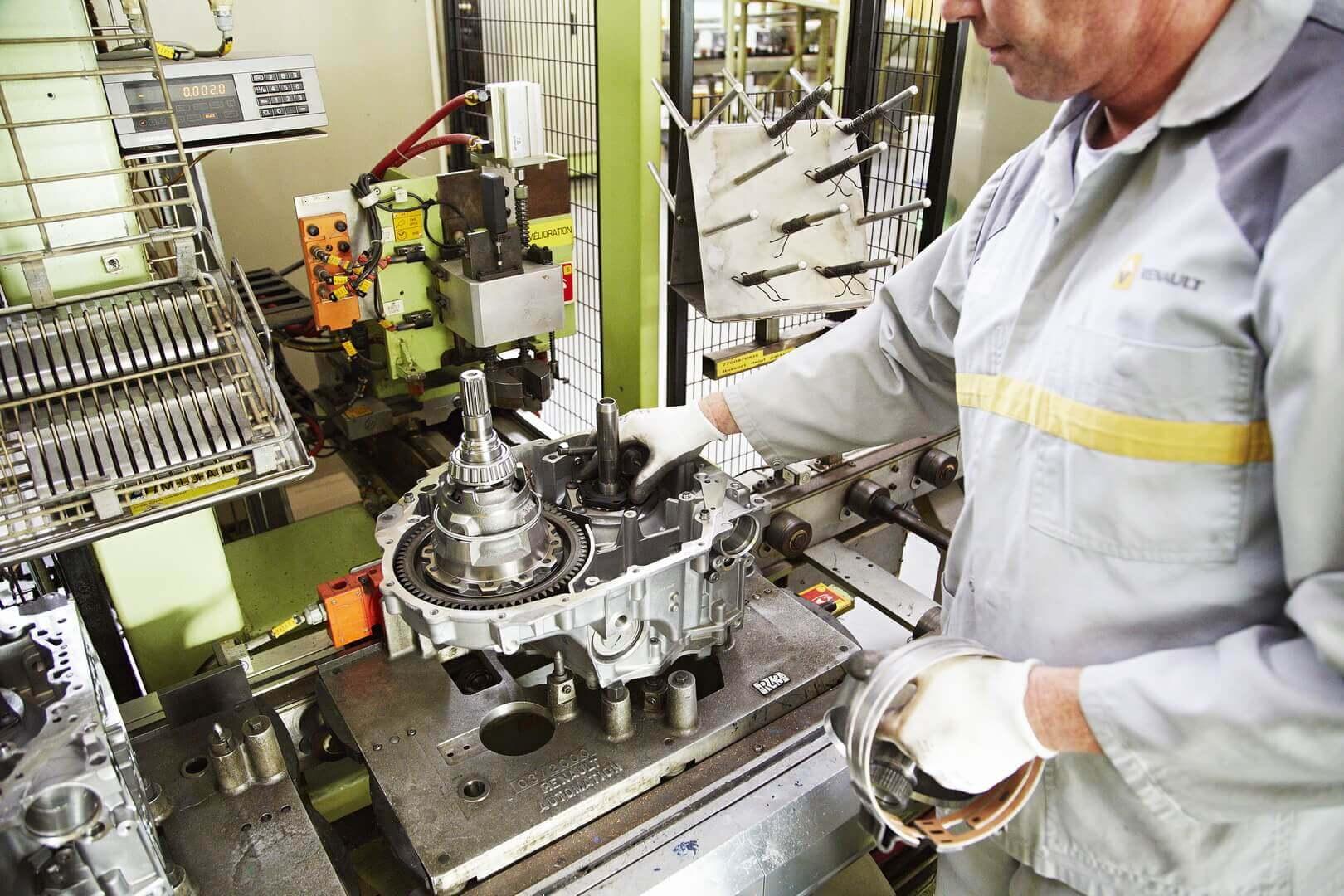 На заводе в Рюисе выпускаются компоненты для электромобилей