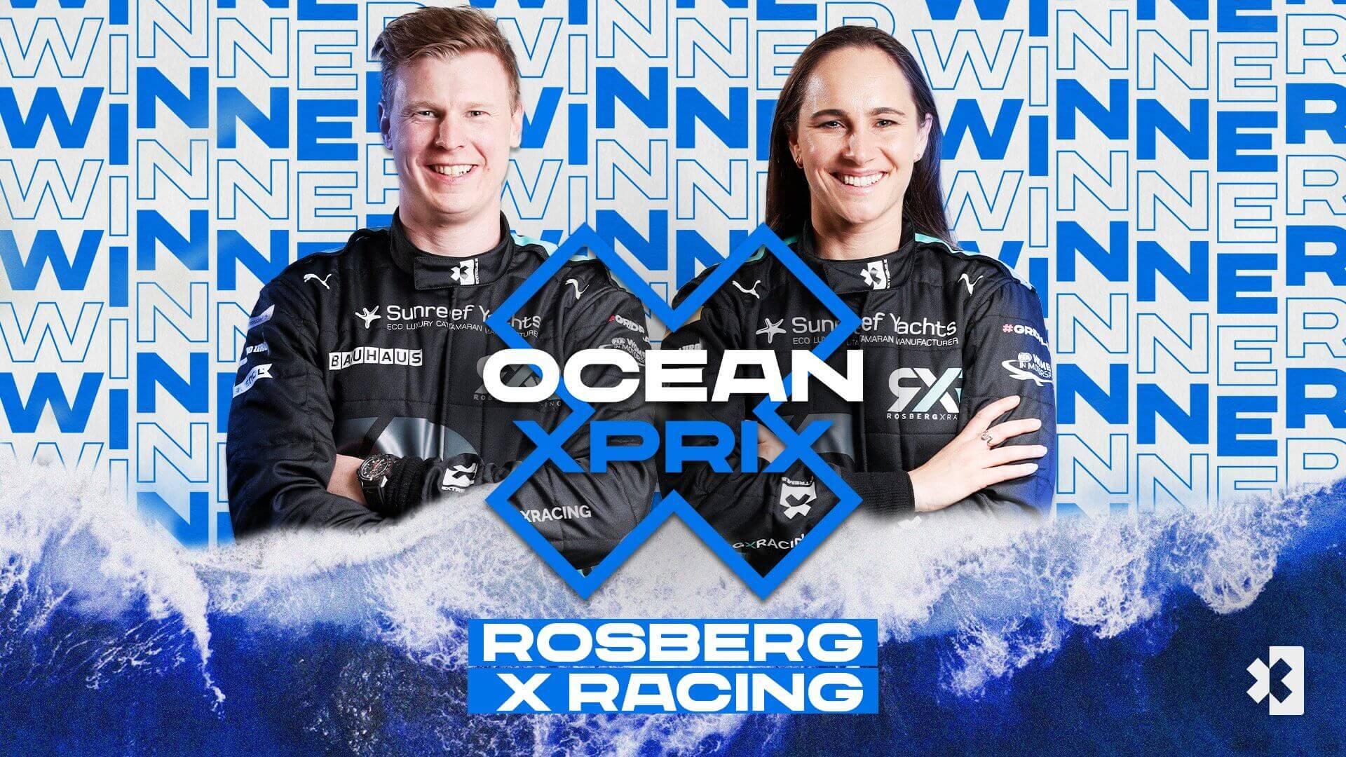 Команда Нико Росберга (RXR) выиграла вторую гонку Extreme E в Сенегале