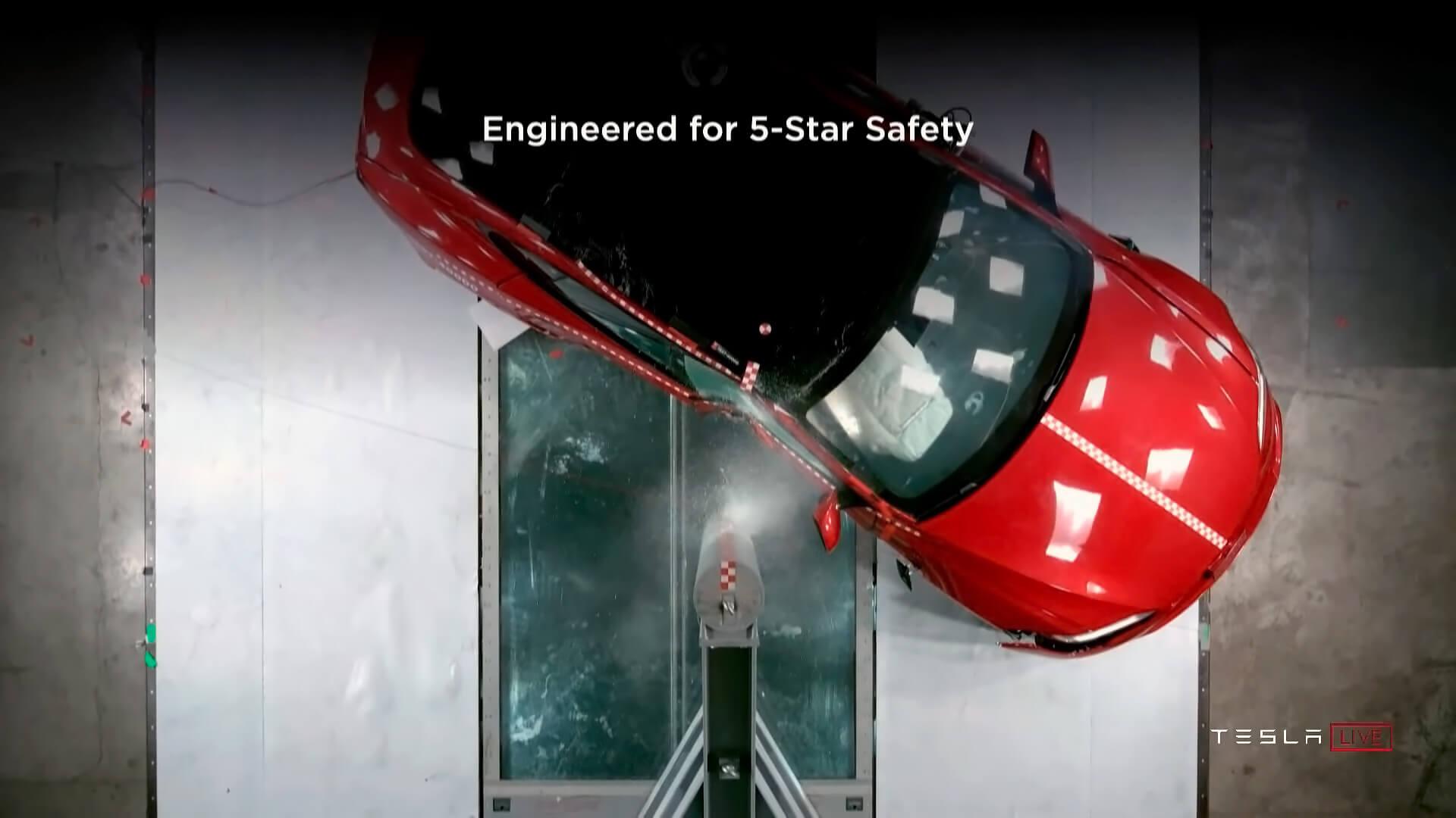Tesla уделяет первоочередное внимание безопасности своих электромобилей — Model S Plaid не исключение